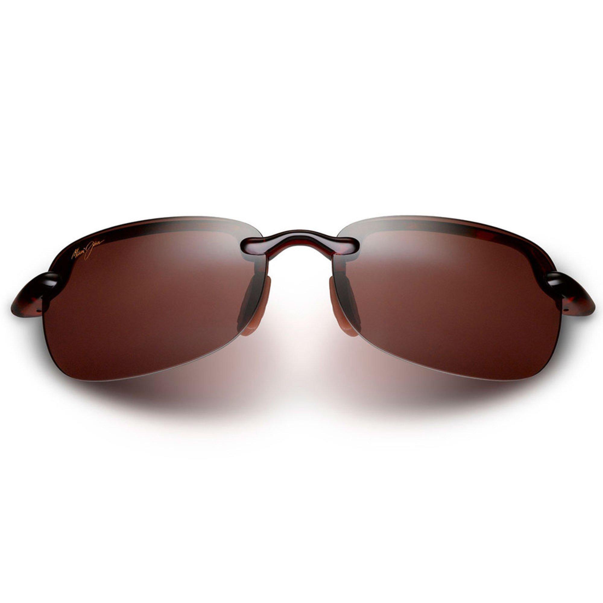 e6ff172655ae Maui Jim. Maui Jim Unisex Sandy Beach Tortoise Polarized Rimless Sunglasses