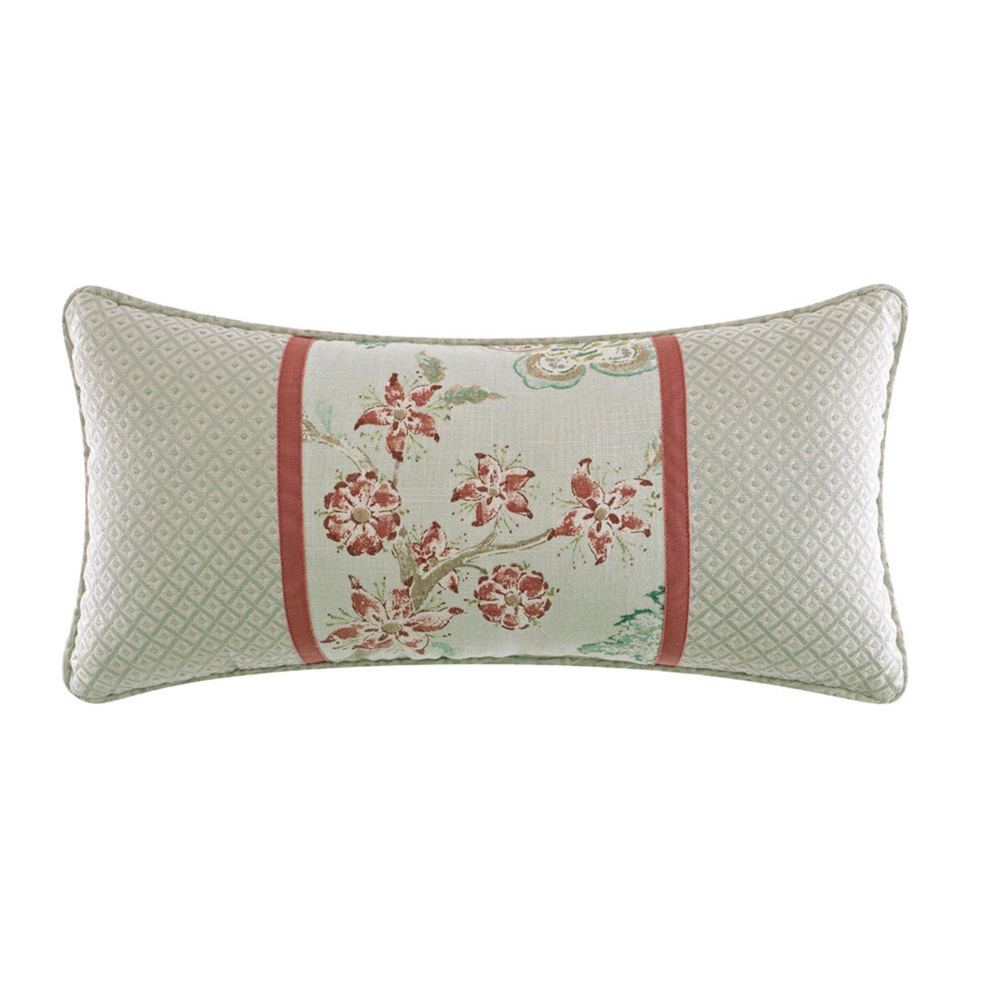 Decorative Pillows Outlet : Croscill Retreat 22x11 Boudoir Pillow Decorative Pillows For The Home - Shop Your Navy ...