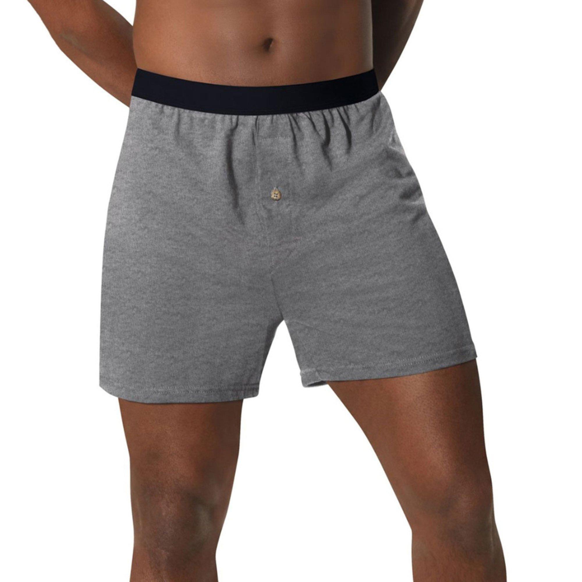 fdb18a0c8cd7 Hanes Men's 5-pack Knit Boxers | Men's Underwear | Apparel - Shop ...