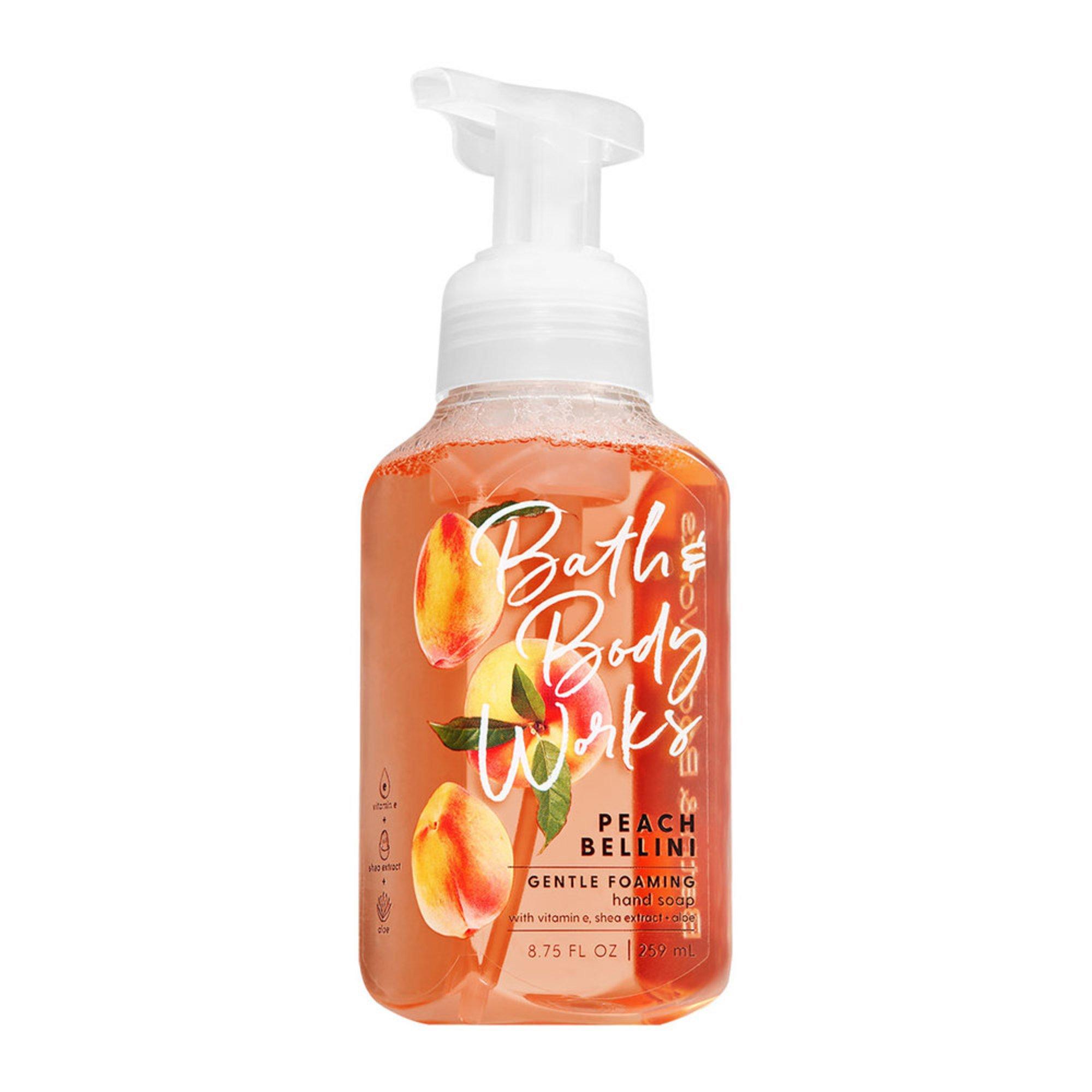 Bath Body Works Peach Bellini Foaming Soap Hand Soap Beauty