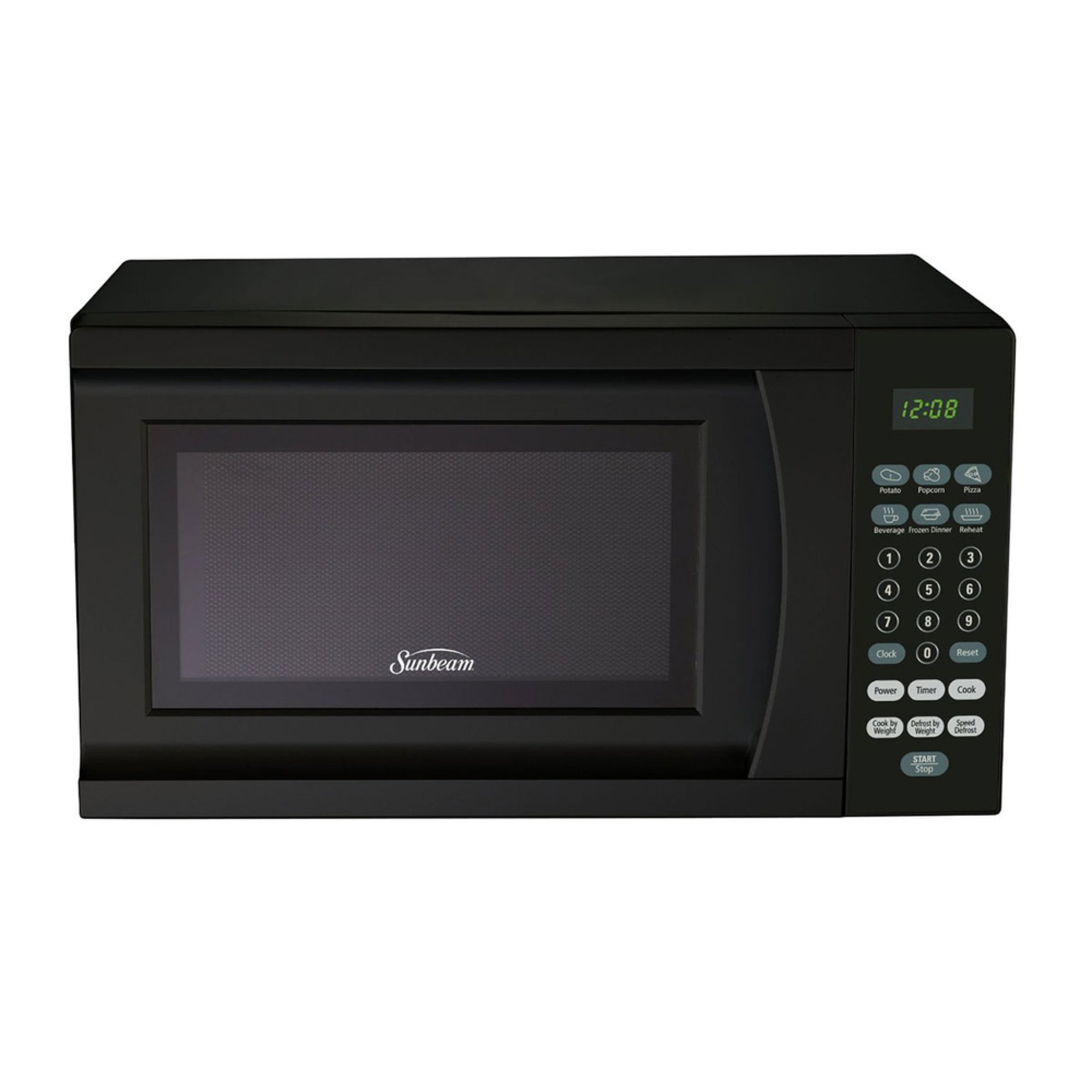 Sunbeam 7 Cu Ft 700 Watt Microwave Oven Black Sgs90701b Countertop Microwaves For The Home Your Navy Exchange Official Site