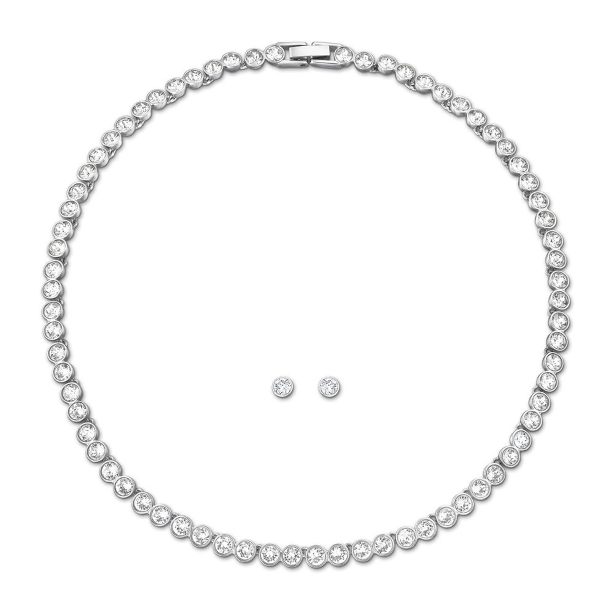 how to put on swarovski tennis bracelet