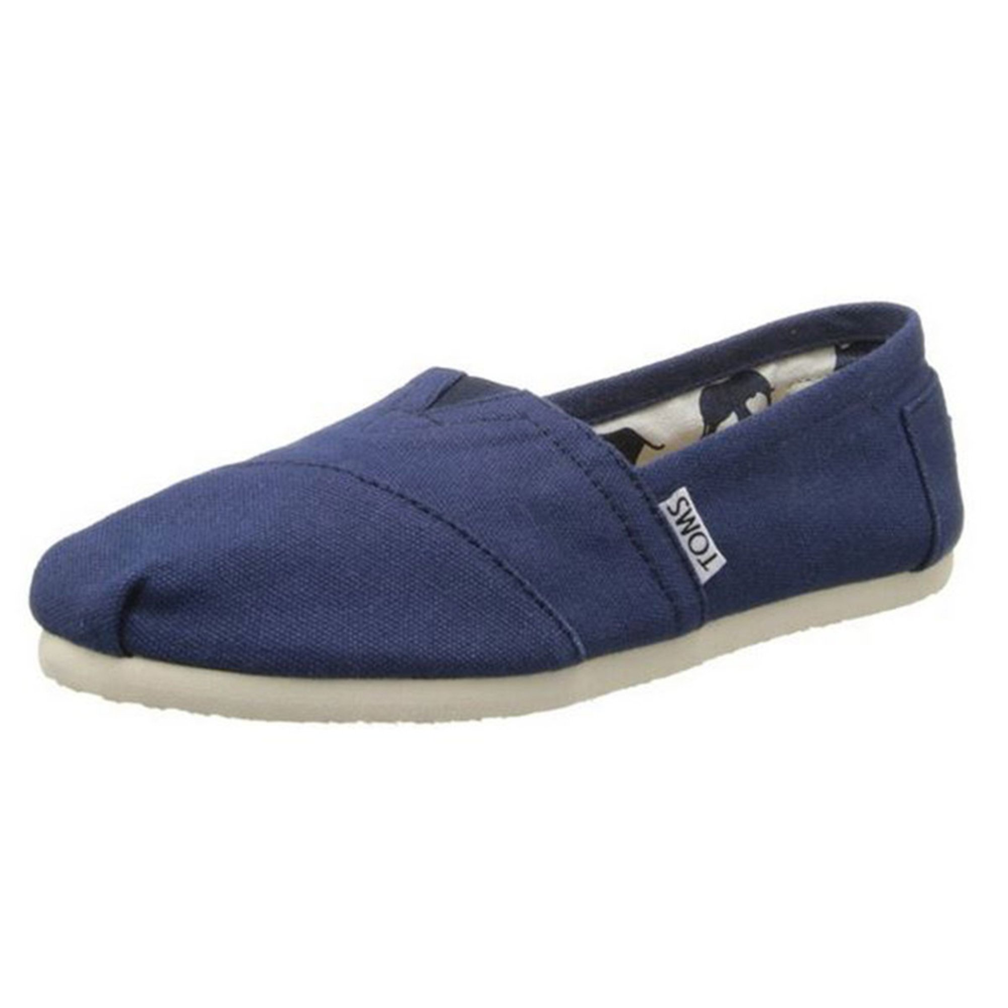 ed87163a77e42 Toms Women's Canvas Classic Slip On Shoe