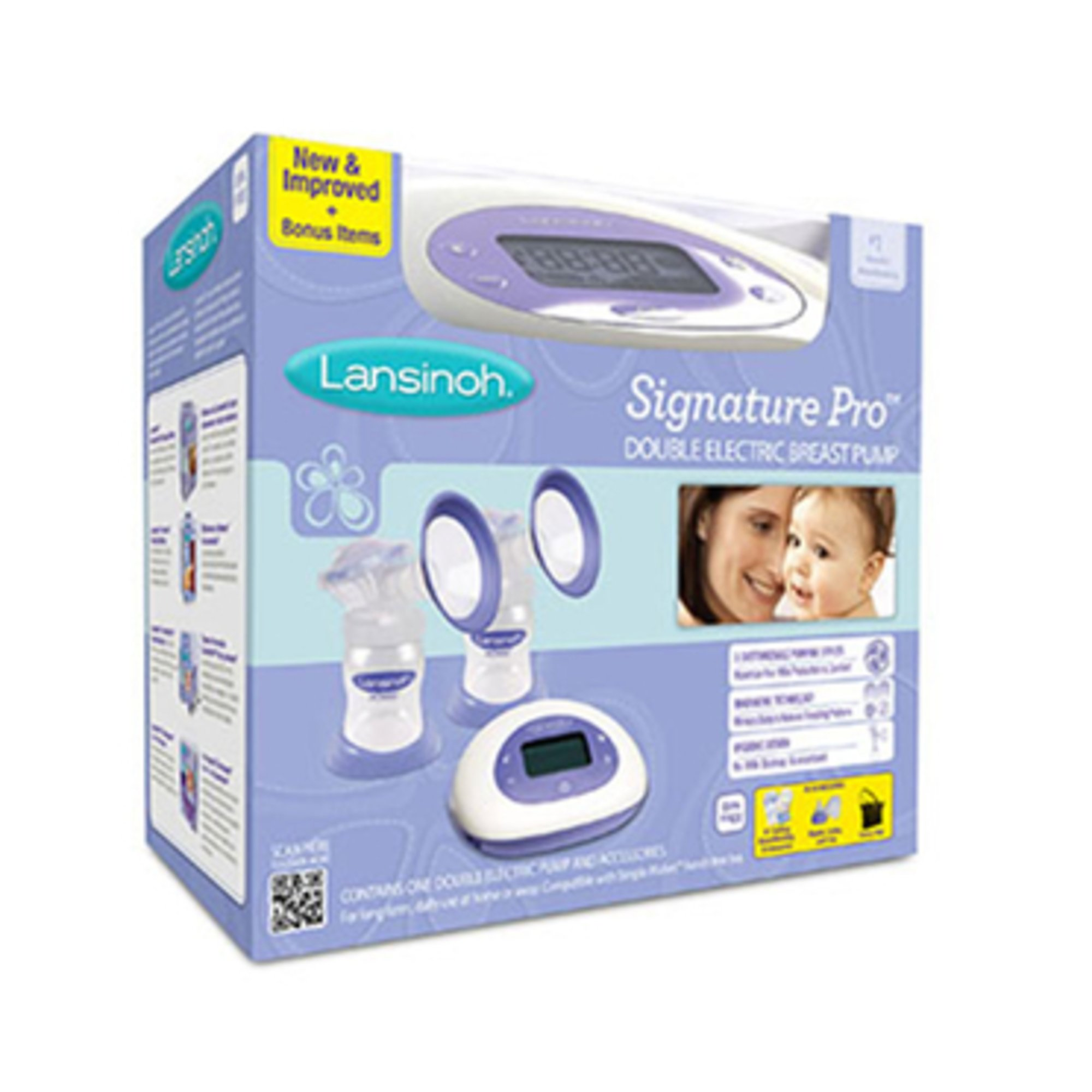 Lansinoh Signature Pro Double Electric Breast Pump D Breast