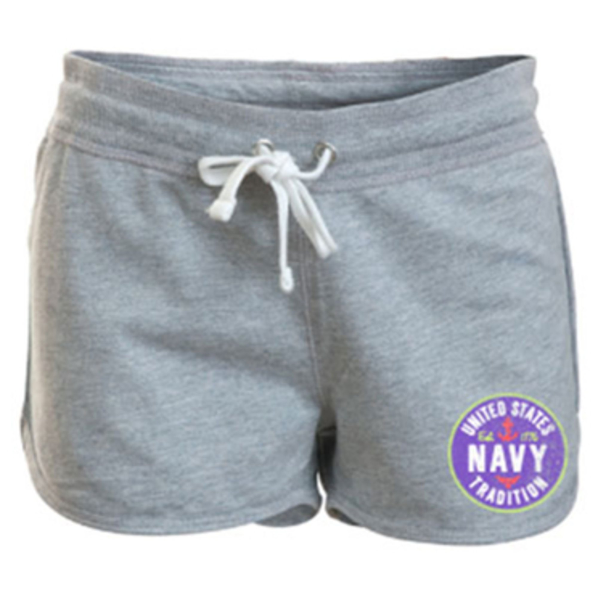 camp david women 39 s usn hayden fleece shorts all shop. Black Bedroom Furniture Sets. Home Design Ideas