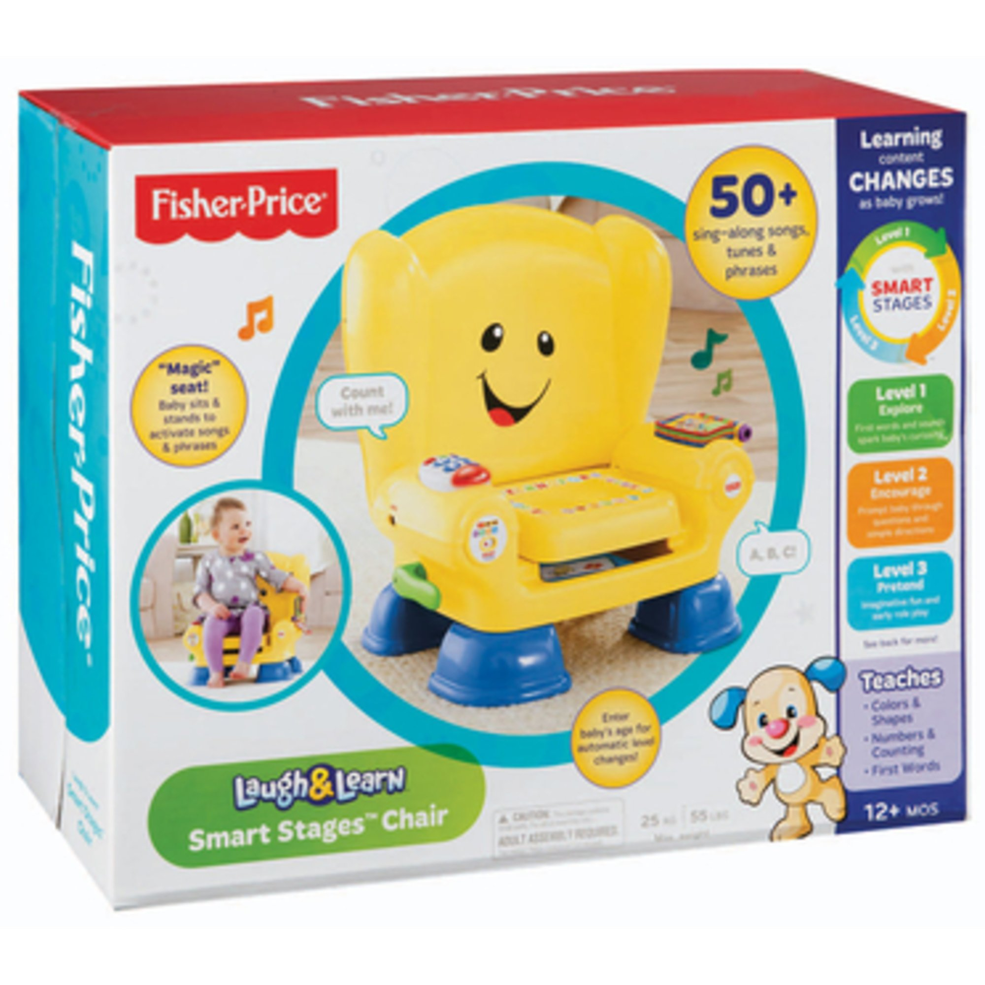 Baby Chair  Educational Learning Toy Fisher Price Laugh And Learn Smart Stages