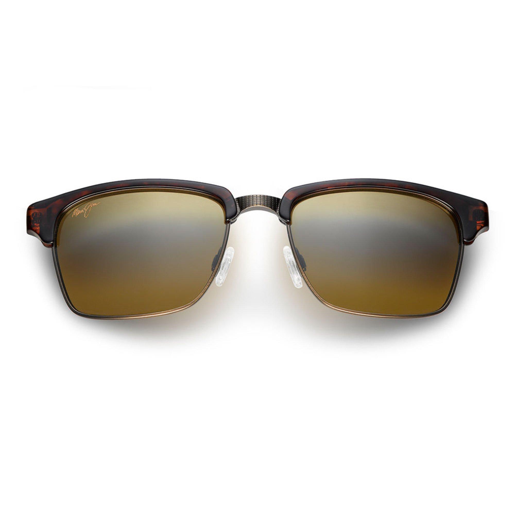 fbd6410f58ca Maui Jim. Maui Jim Unisex Kawika Tortoise with Antique Gold Polarized  Classic Sunglasses