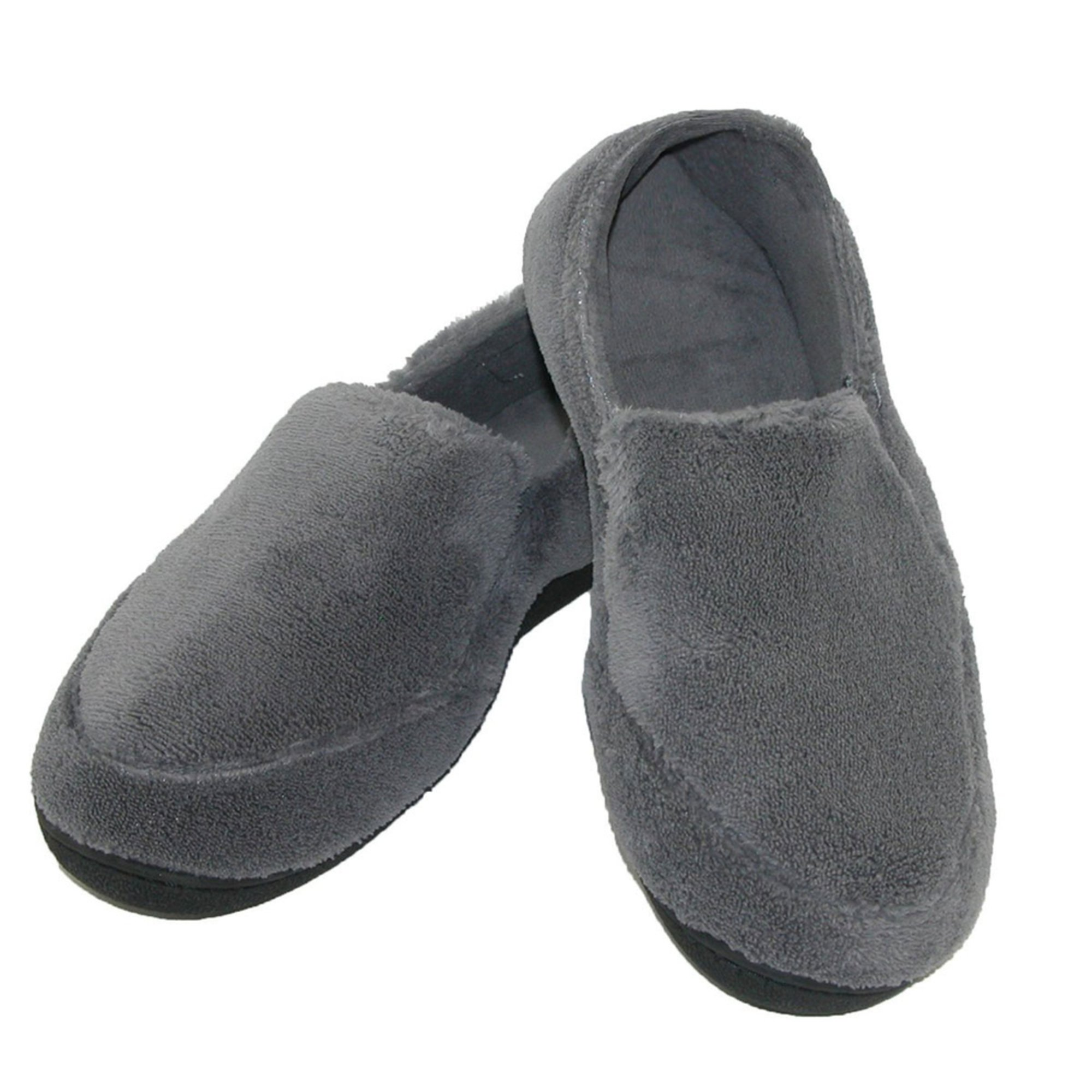 isotoner men's microterry slipper  men's slippers  shoes
