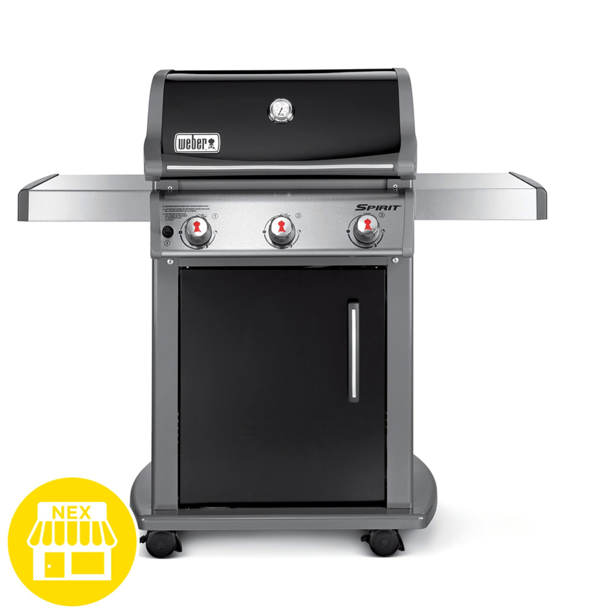 weber spirit e 310 3 burner gas grill gas grills. Black Bedroom Furniture Sets. Home Design Ideas