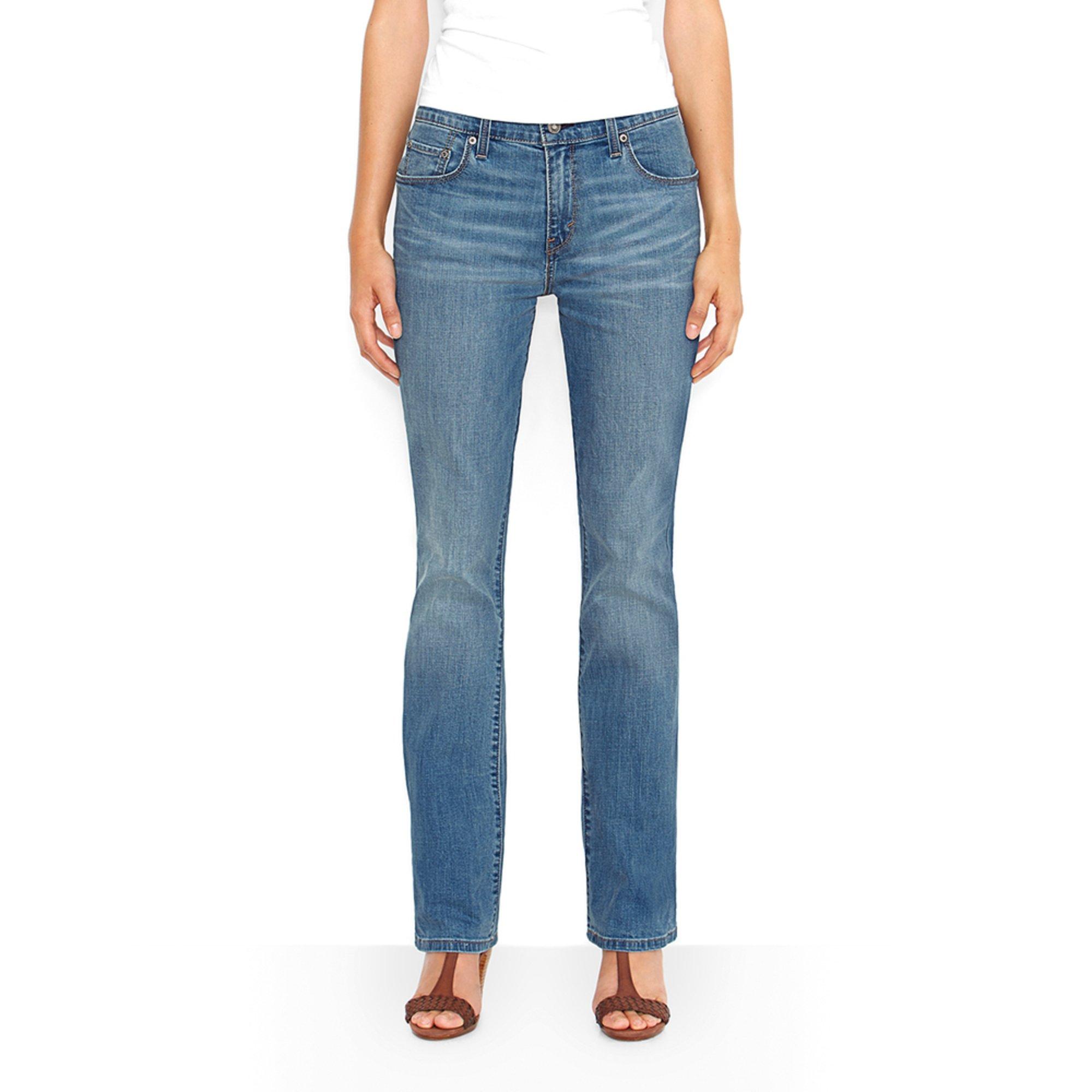 Levi's Women's 515 Bootcut Jeans Blue Salvation | Women's ... - photo #42