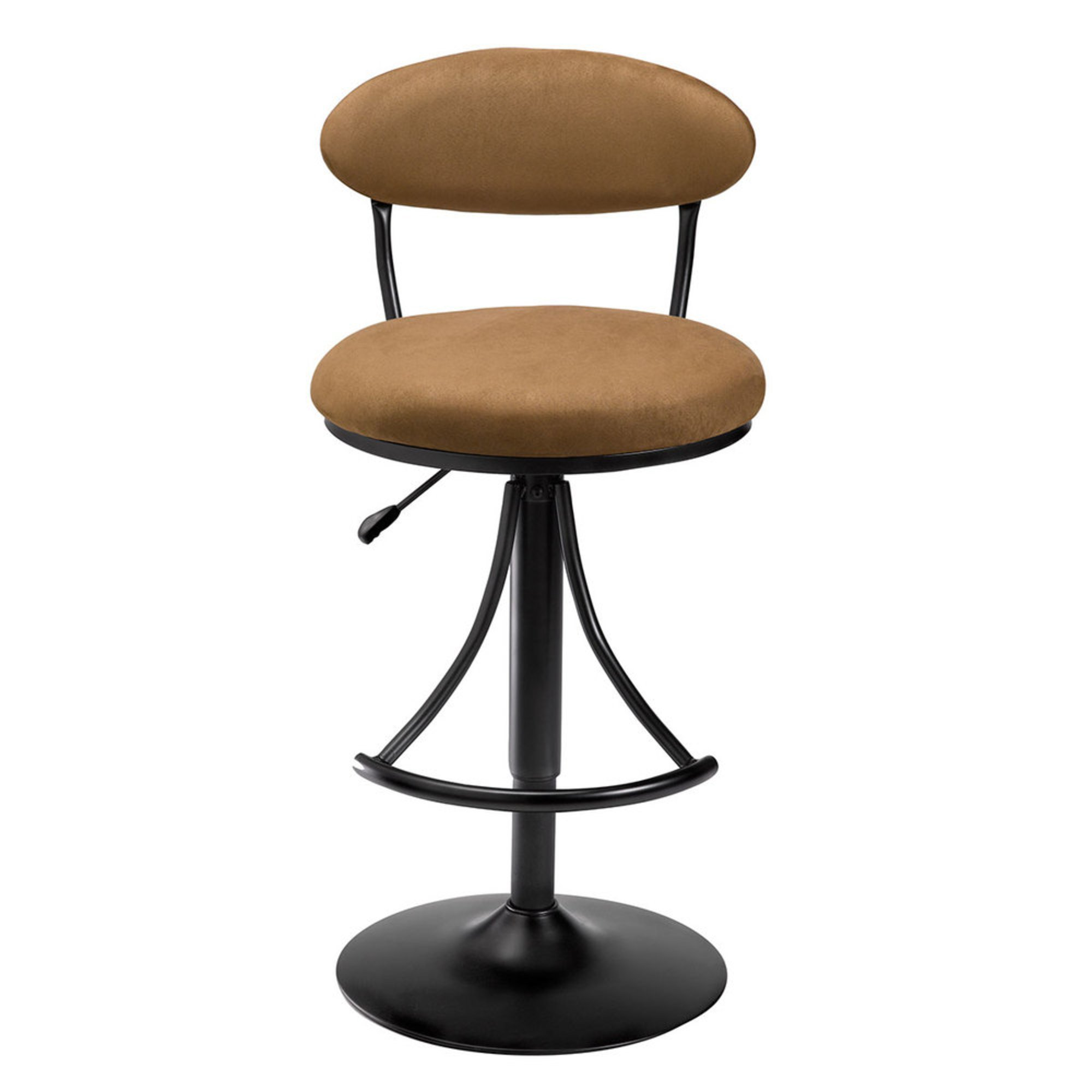Venus Adjustable Swivel Brown Bar Stool Bar Stools And