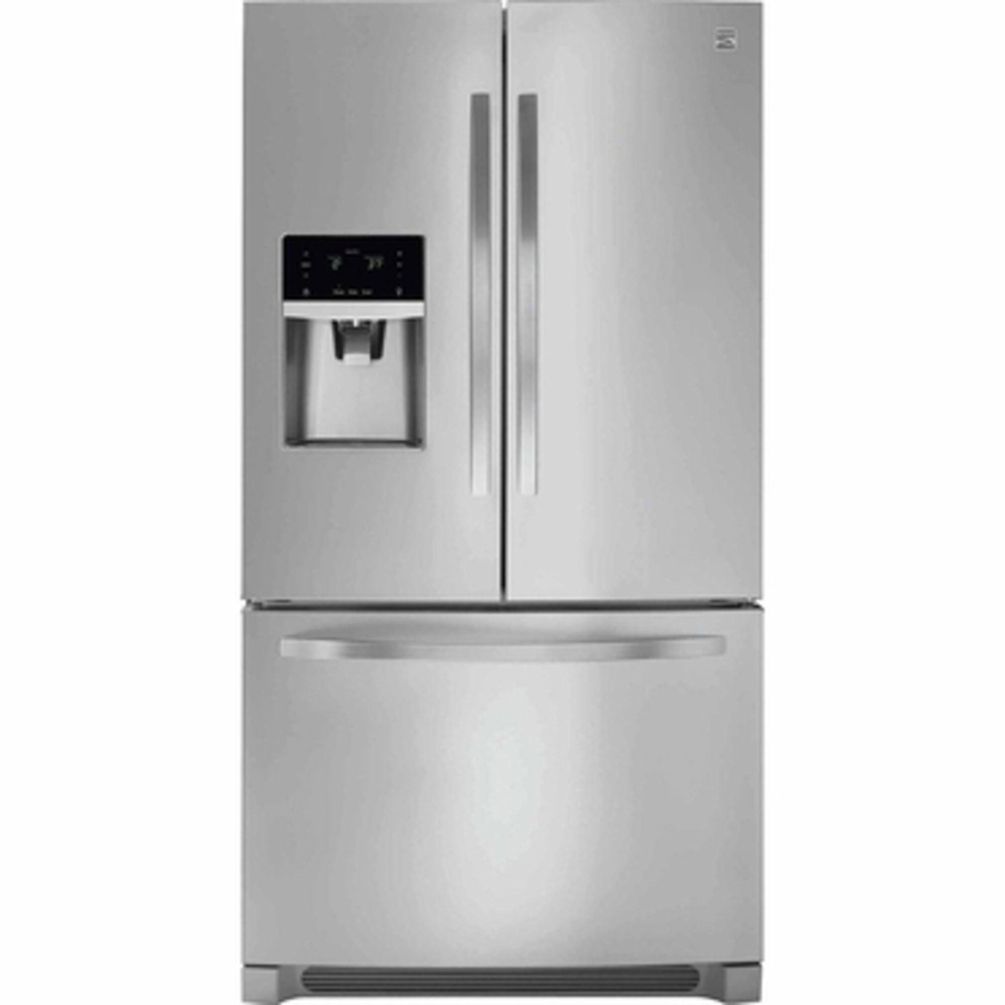 Kenmore 21.9-cu.ft. Counter-depth French Door Refrigerator ...