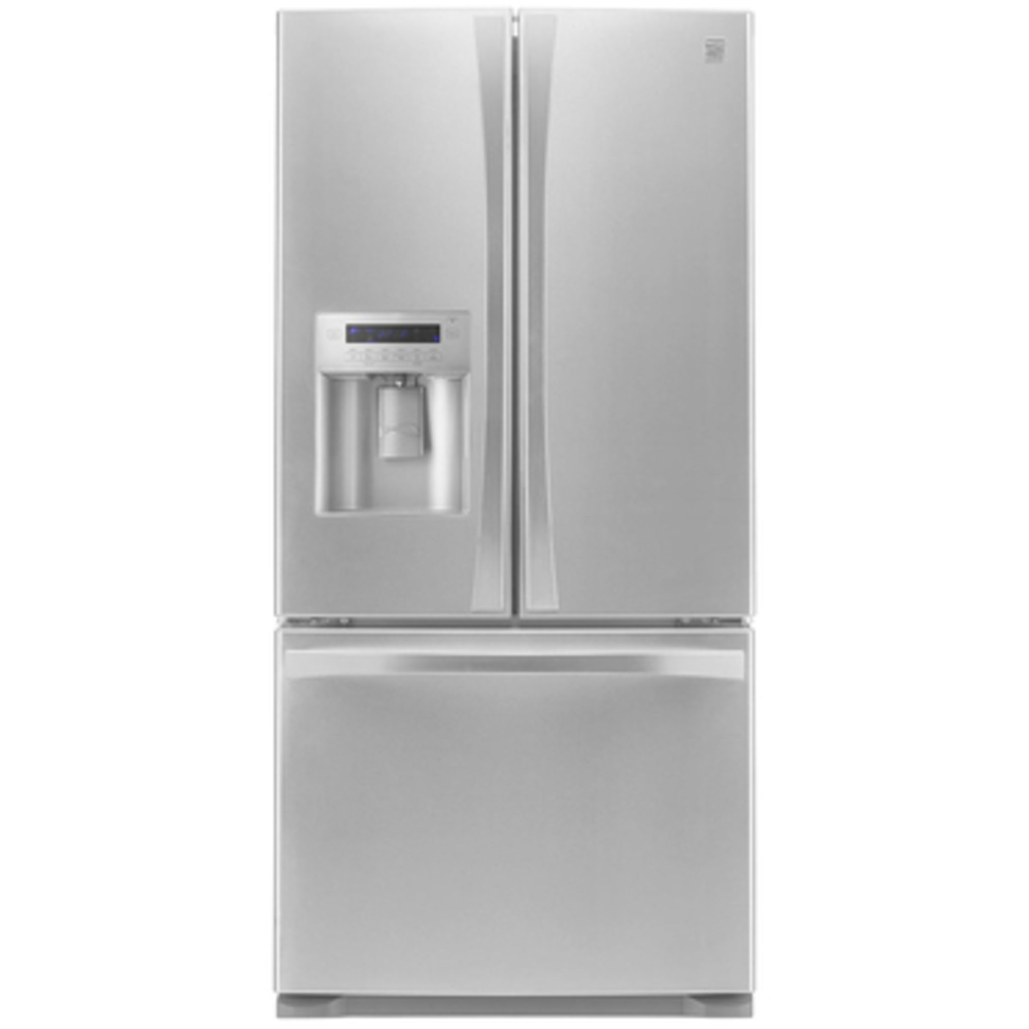 french fre doors fridge manual elite all kenmore white refrigerator door bottom
