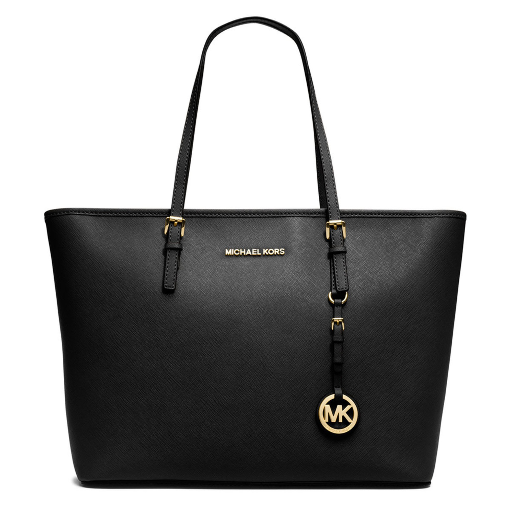 michael michael kors michael michael kors jet set travel top zip tote ...