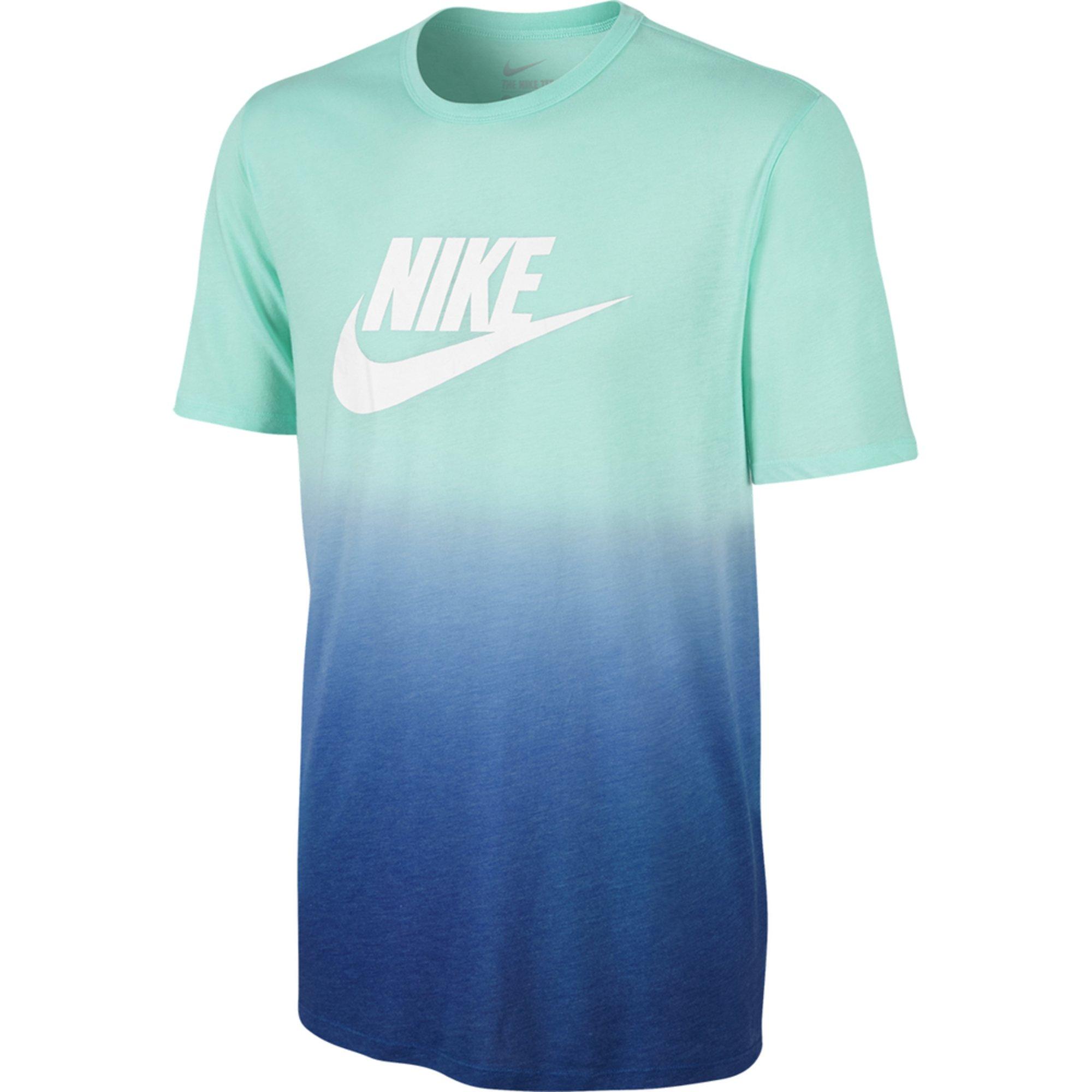 Nike tee dip dye futura men 39 s training t shirt men for Mens dip dye shirt