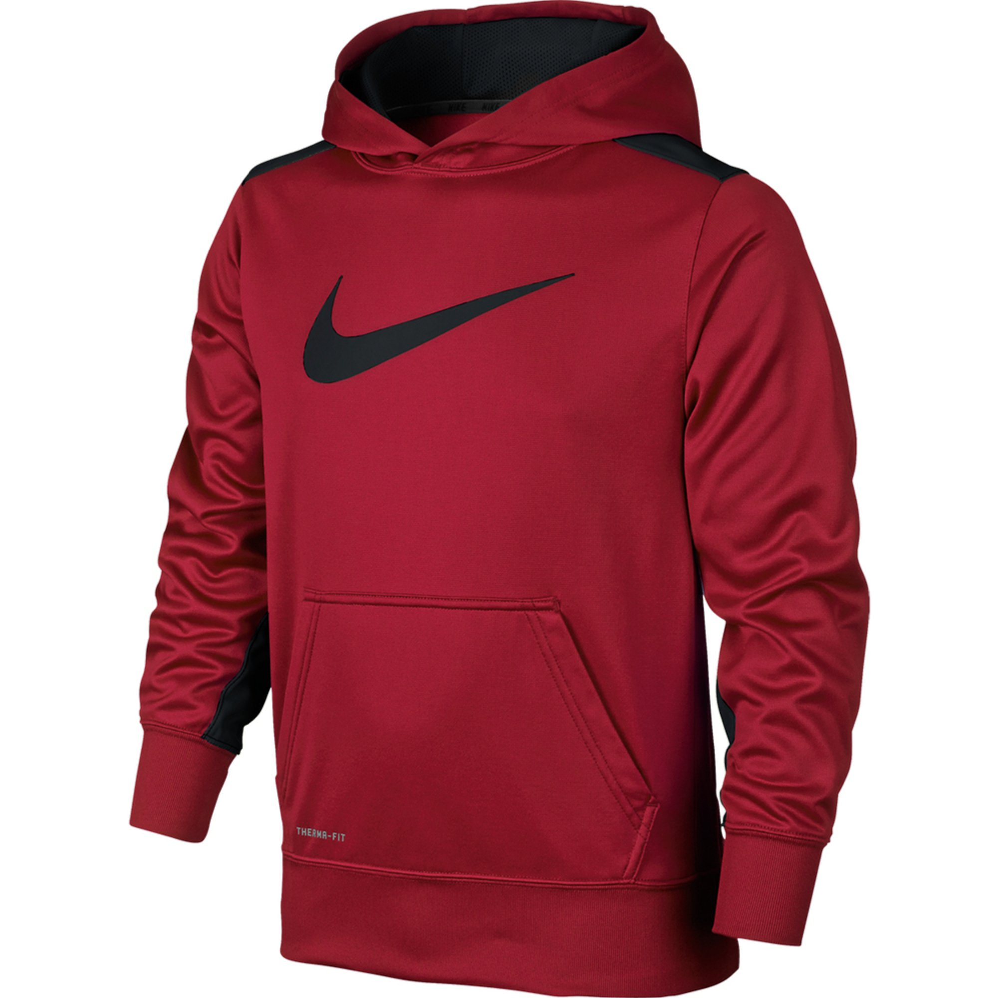 Nike Big Boys' Ko 3.0 Hoodie, Gym Red | Big Boys' Hoodies ...