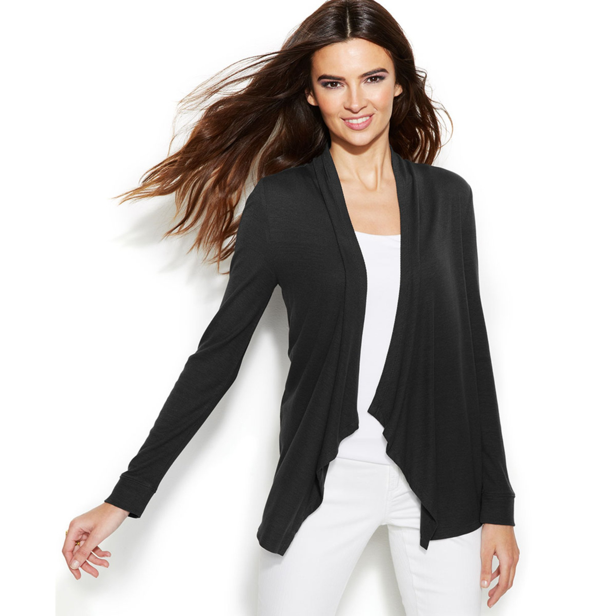 I.N.C. International Concepts. I.N.C. International Concepts Women s Long-Sleeve  Open-Front Cardigan Sweater ce5063431