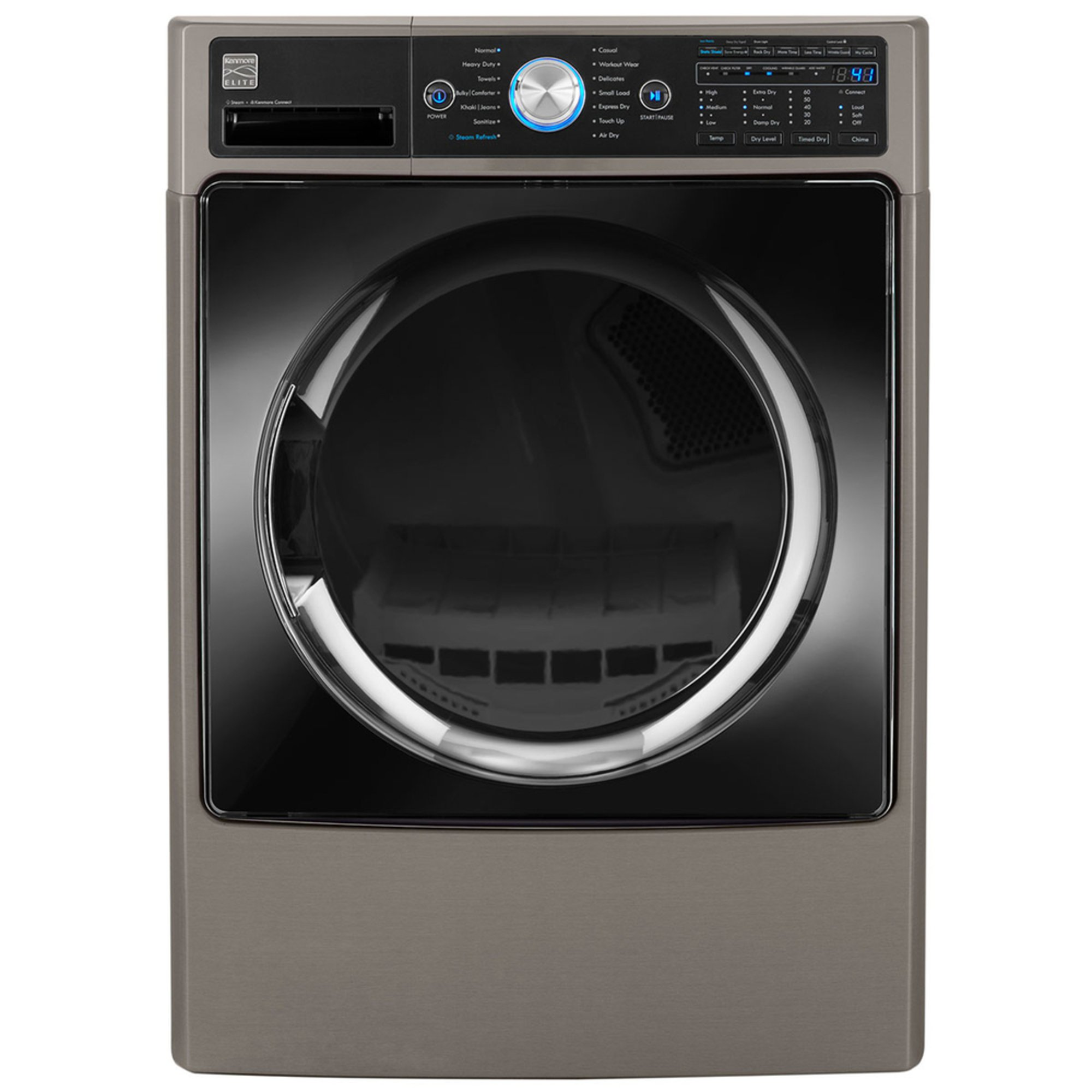 Kenmore Elite 74 Cuft Front Load Electric Dryer W Steam