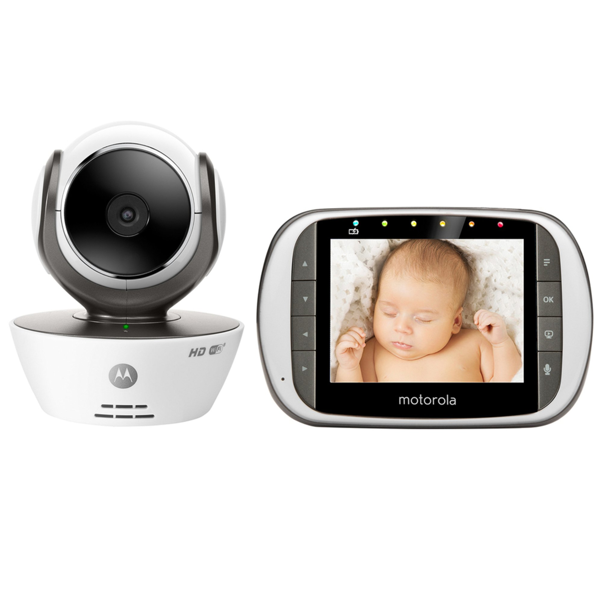 motorola mbp853connect digital video baby monitor with wi fi internet viewing wi fi baby. Black Bedroom Furniture Sets. Home Design Ideas