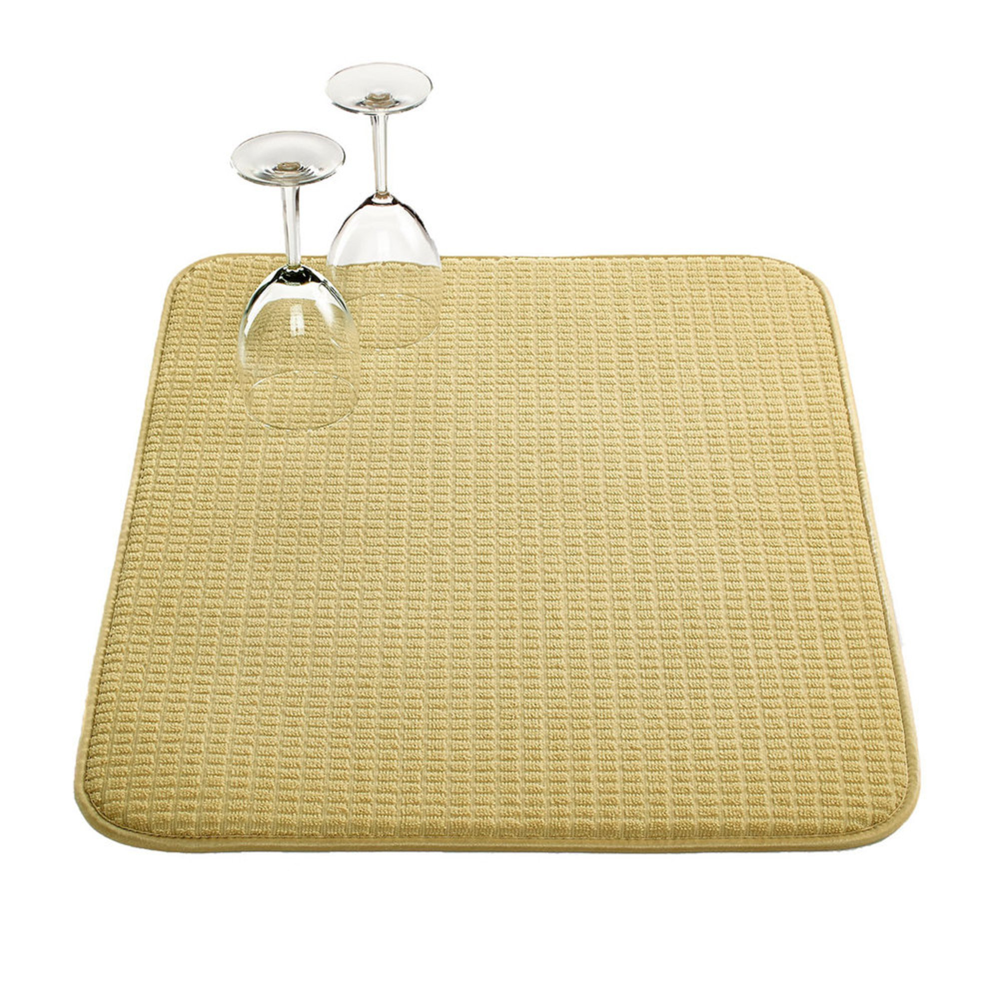 martha stewart collection drying mat taupe kitchen martha stewart collection kitchen towels set of 3 waffle