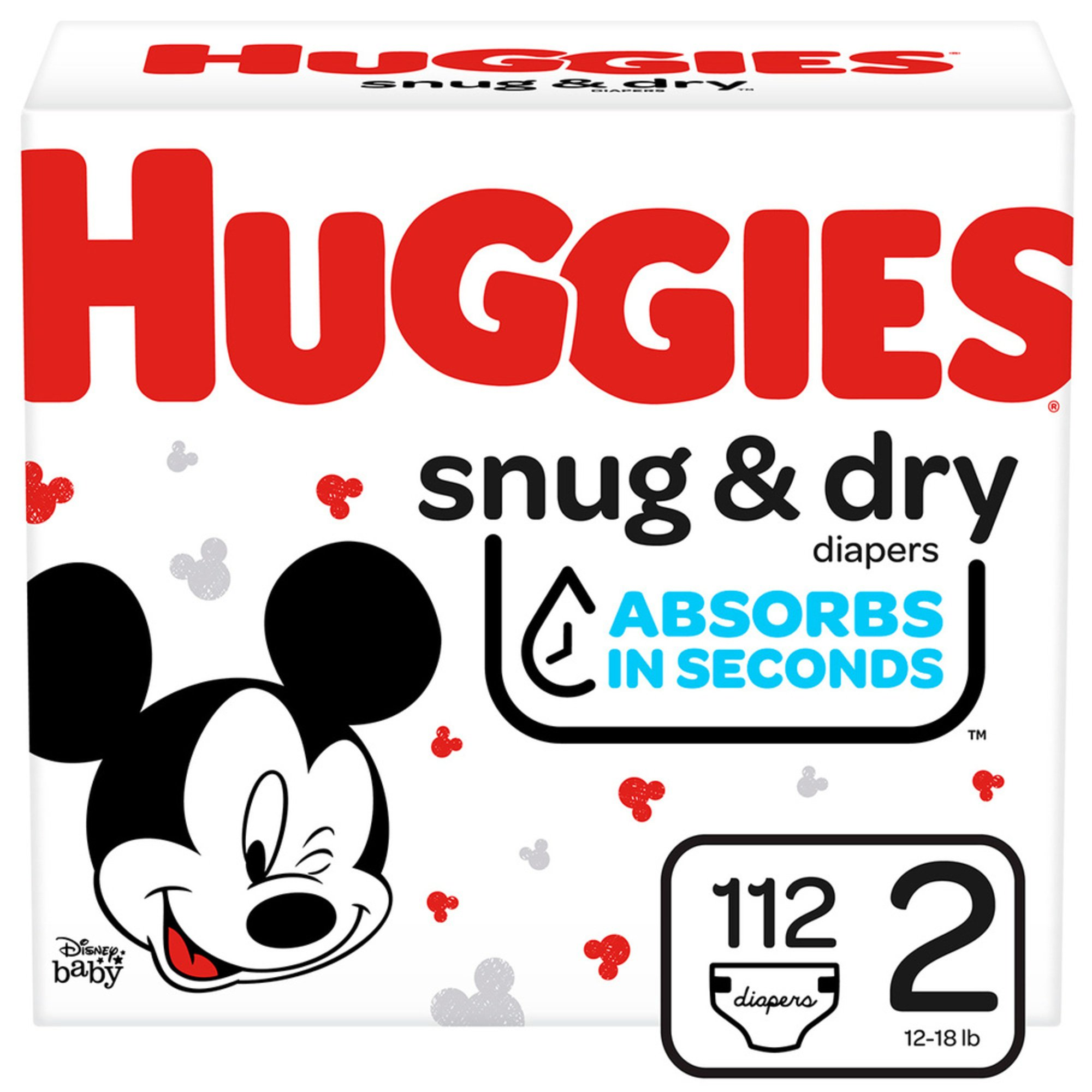 Packaging May Vary HUGGIES Snug /& Dry Baby Diapers Size Newborn 140 Count