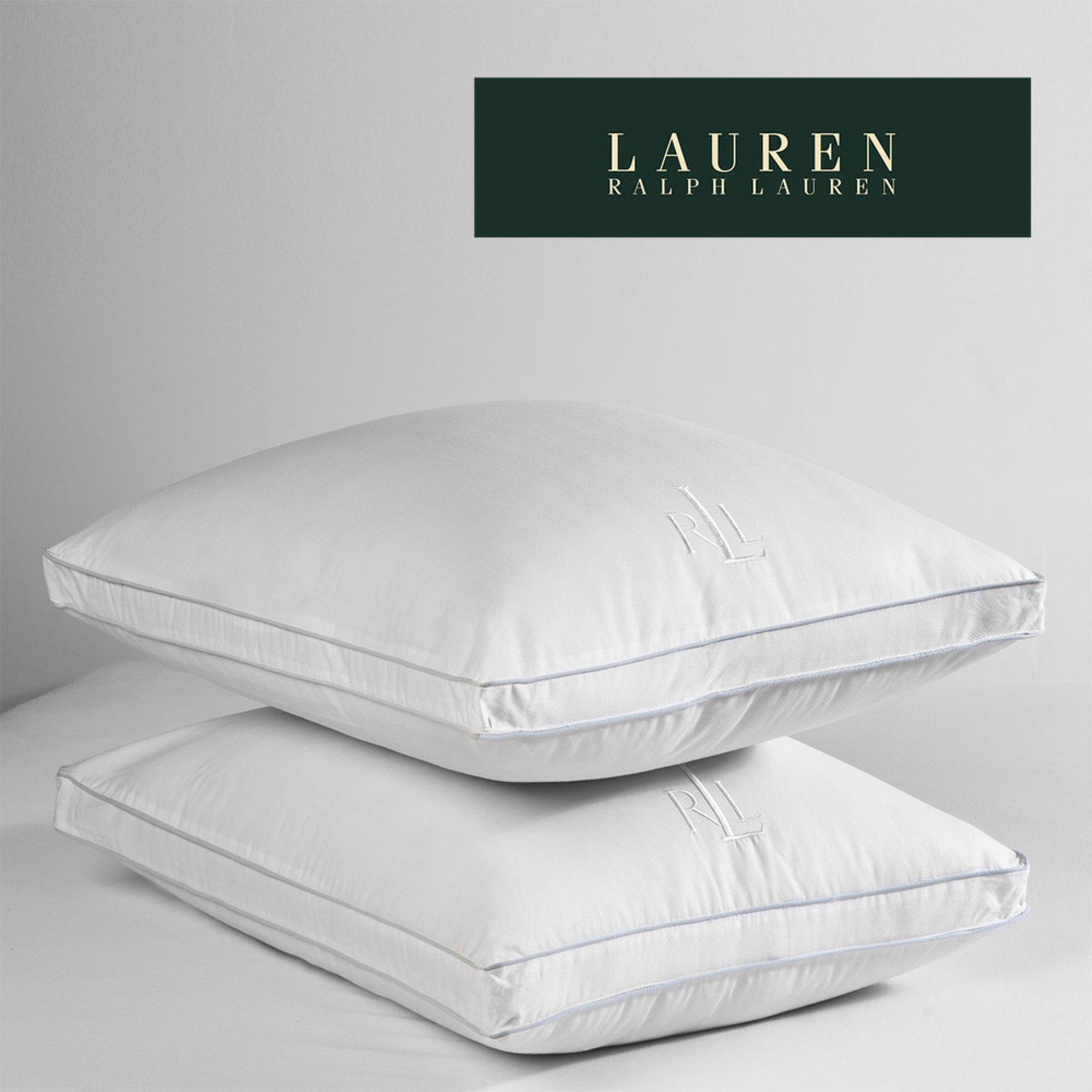 Ralph lauren lawton extra firm pillow standard bed for Bed pillows reviews