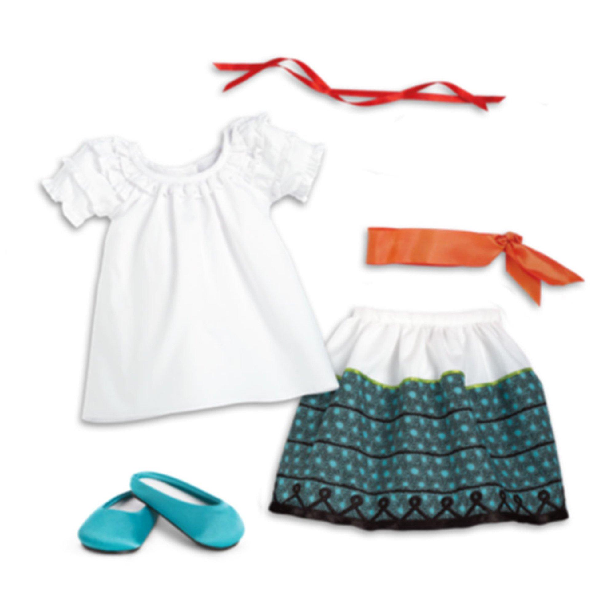 Josefina Birthday Dress: American Girl Josefina's Feast Outfit