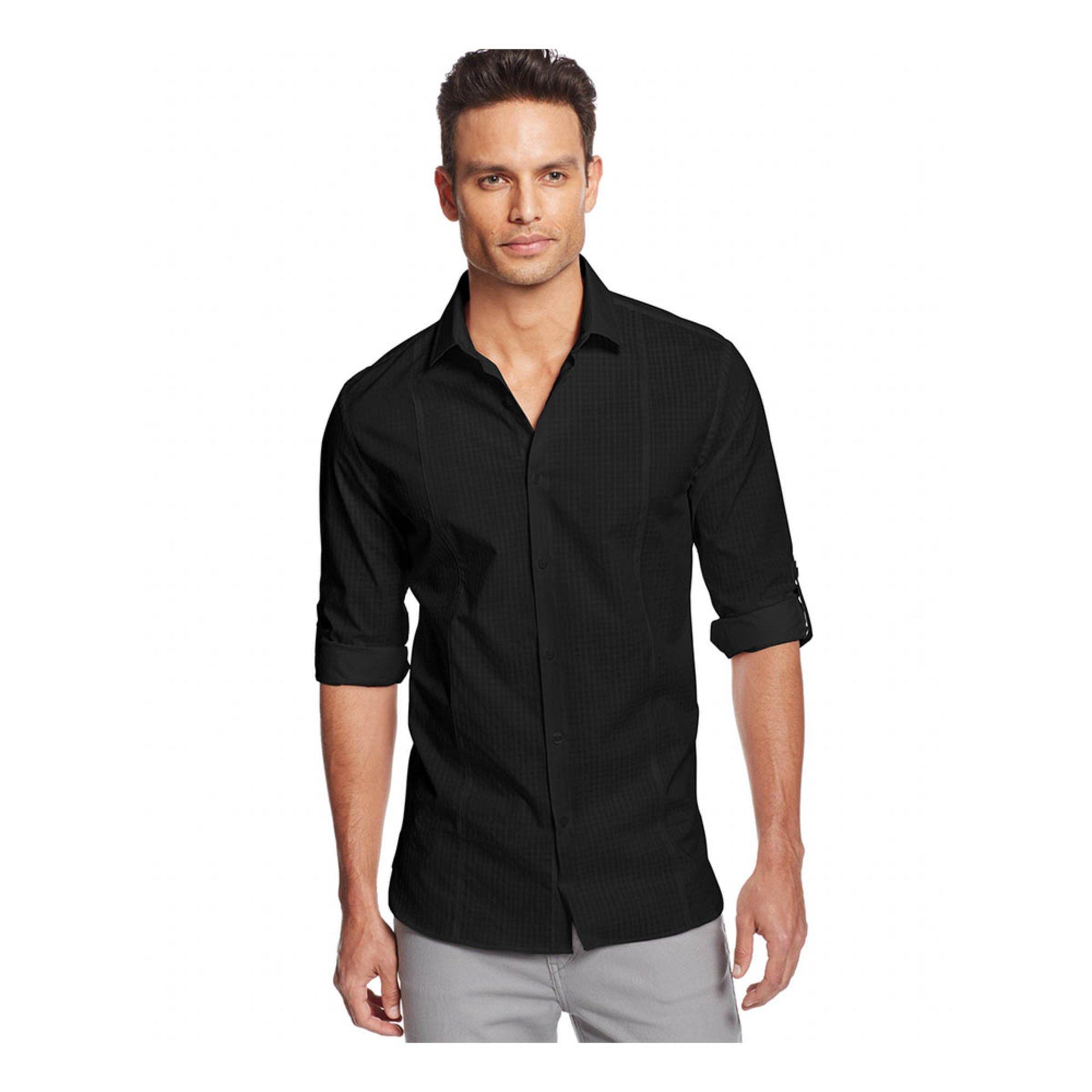 alfani s plymth solid sport shirt s clothing