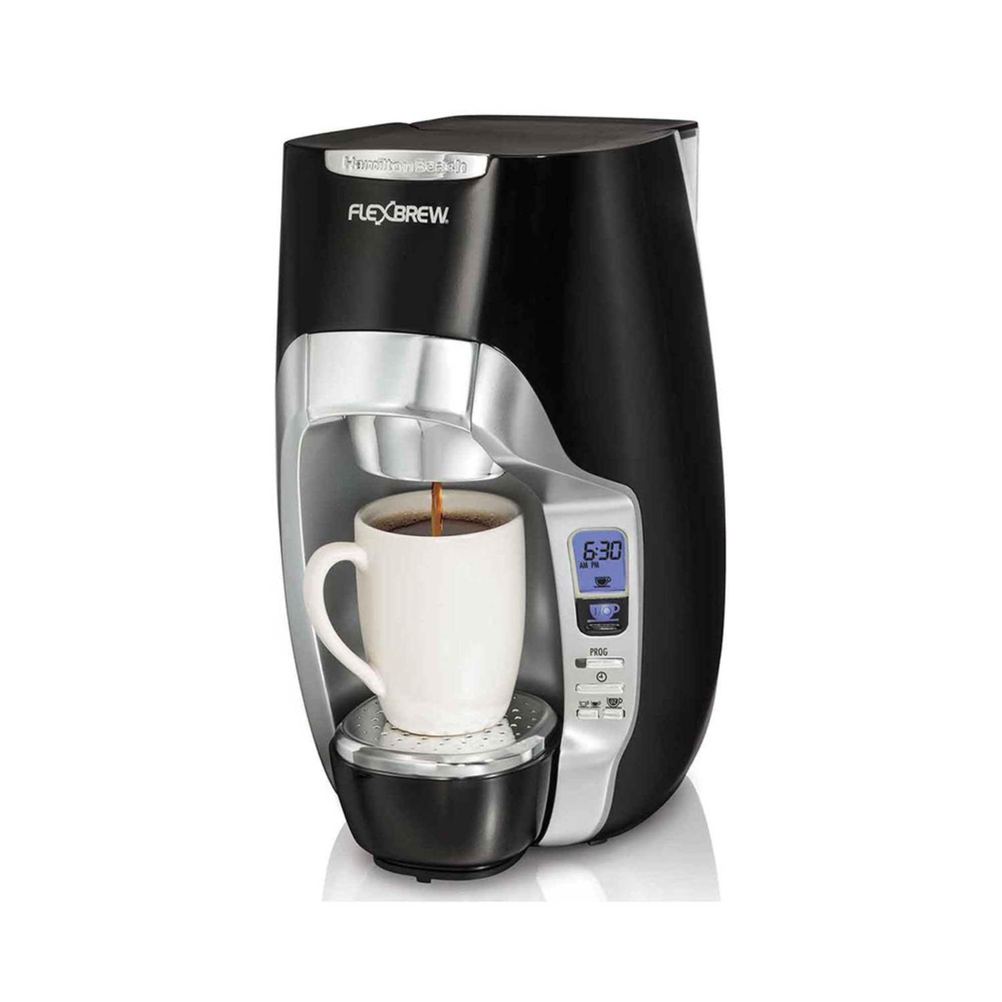 Hamilton Beach FlexBrew Programmable Single Serve Coffee Maker