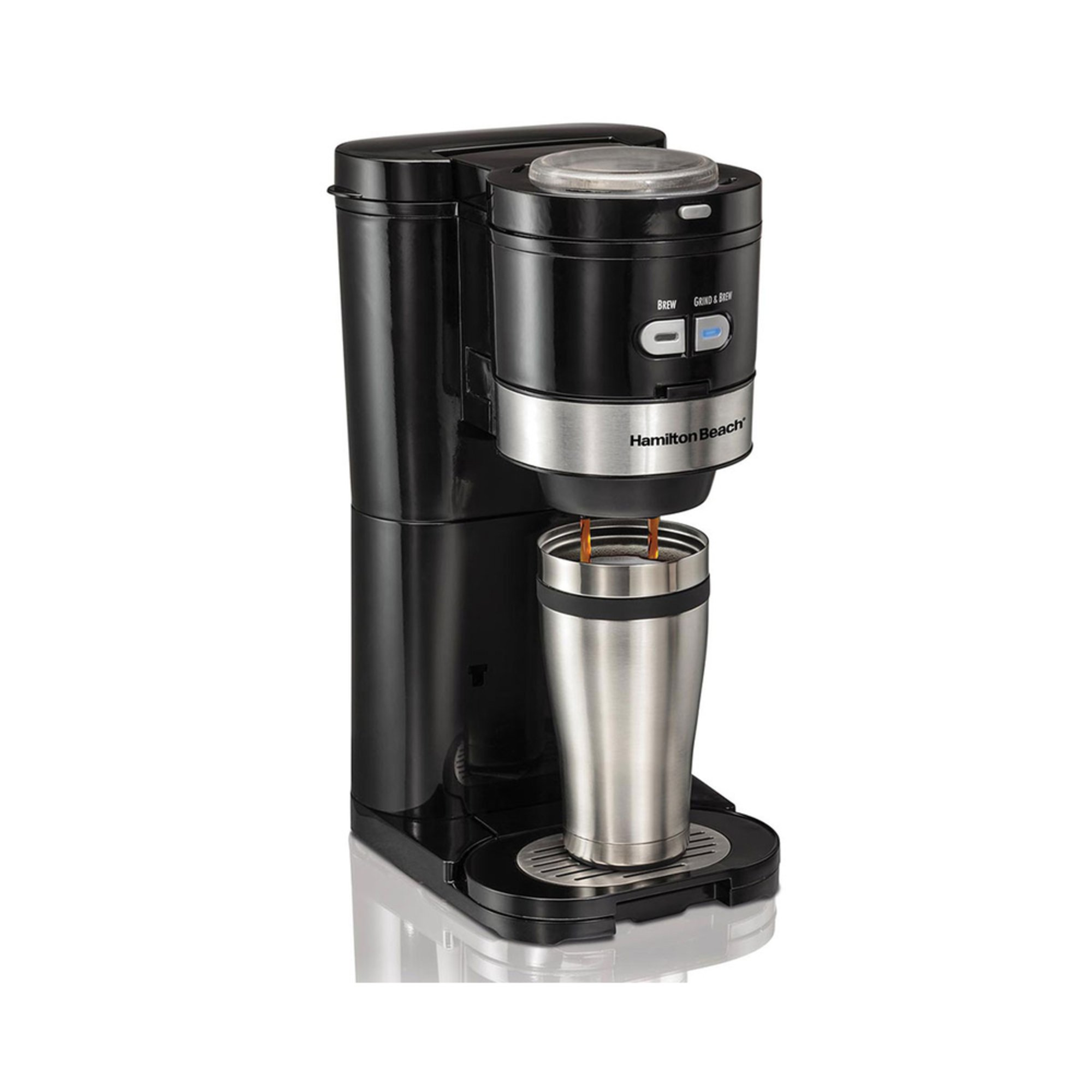 Hamilton Beach Grind And Brew Single Serve Coffee Maker 49989