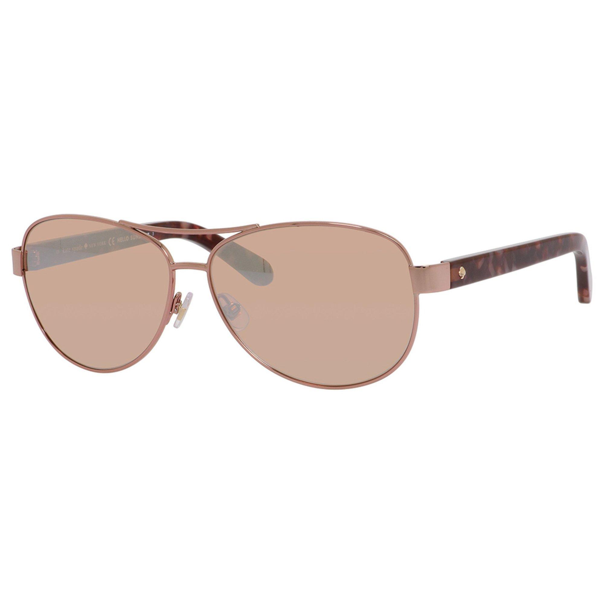 35411069a65 Kate Spade New York. Kate Spade New York Women s Dalia 2 Aviator Sunglasses  58mm