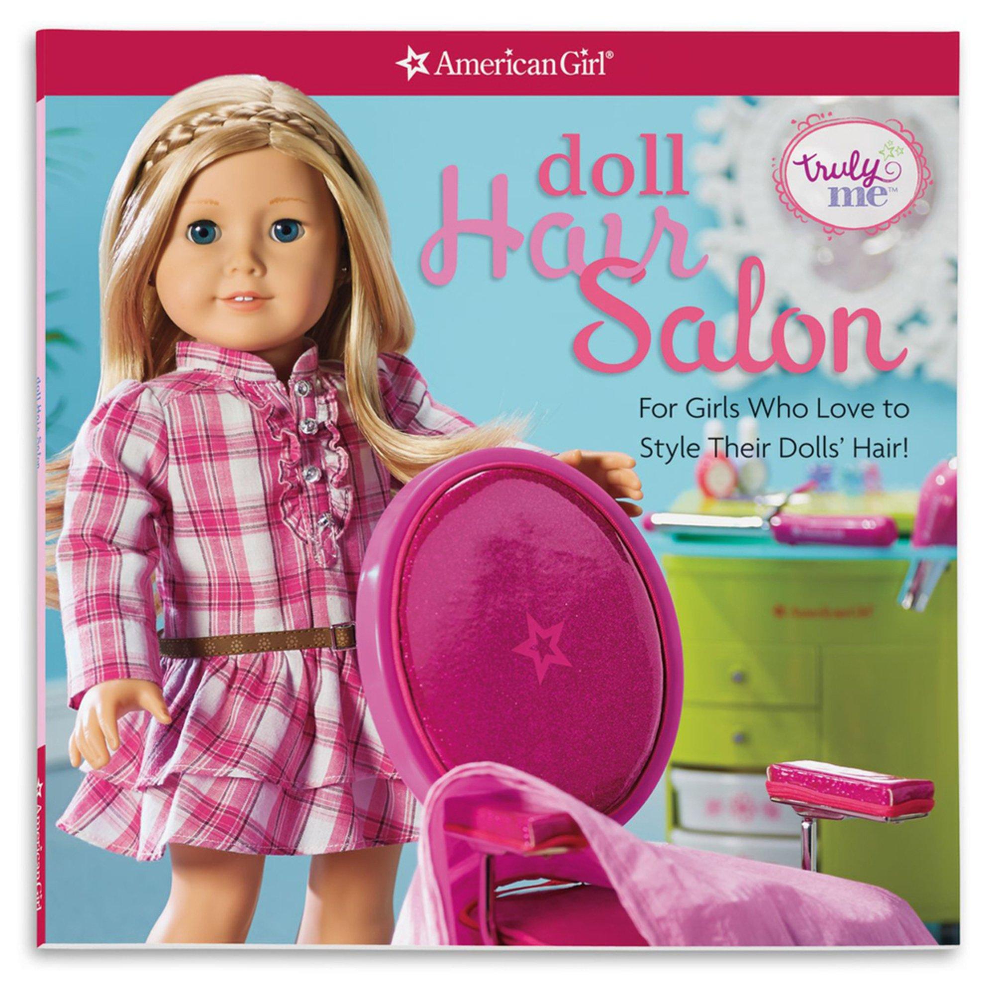 Toy Hair Salon : American girl truly me doll hair salon activity book