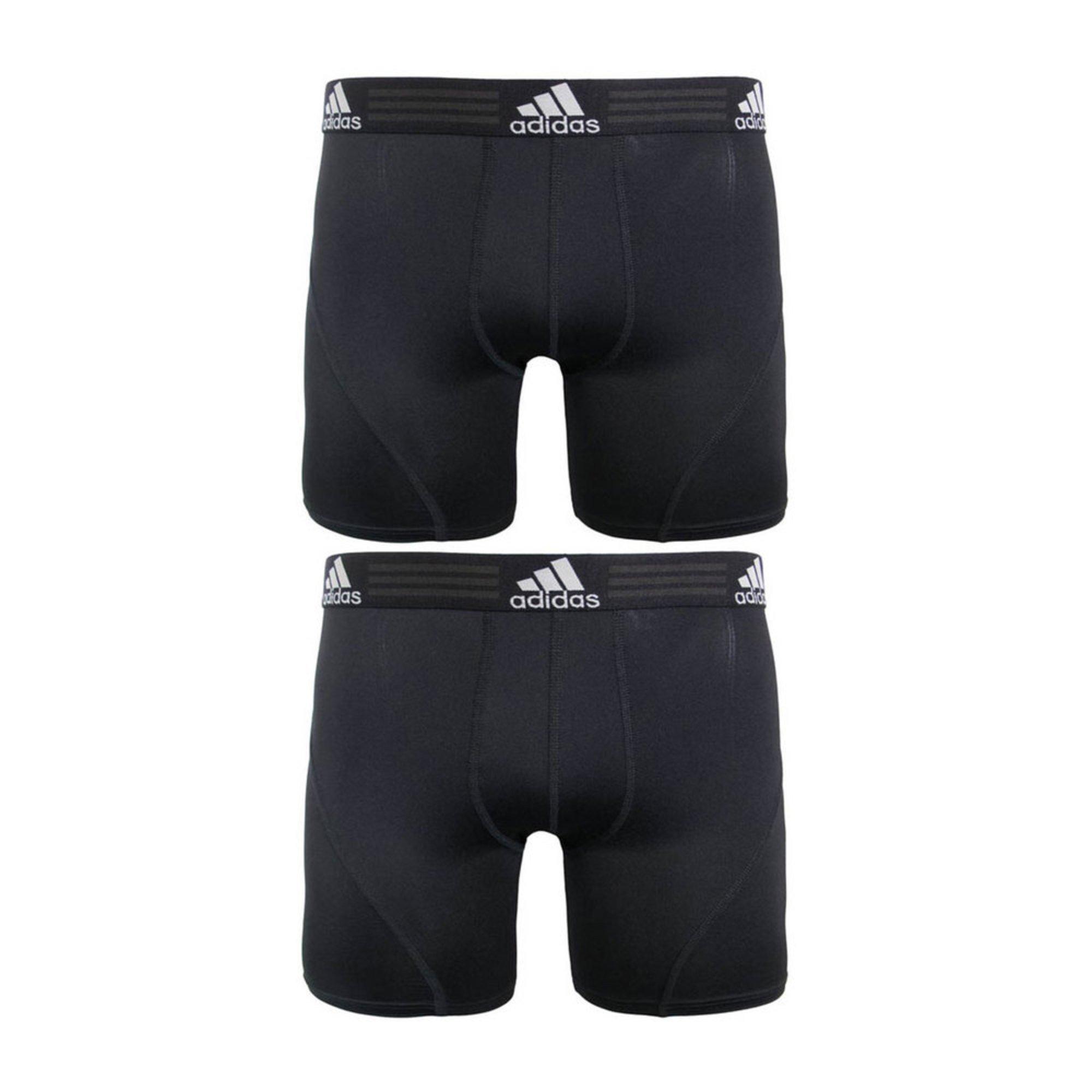 877562706d47 Adidas Men s Performance Sport Climalite 2-pack Boxer Briefs