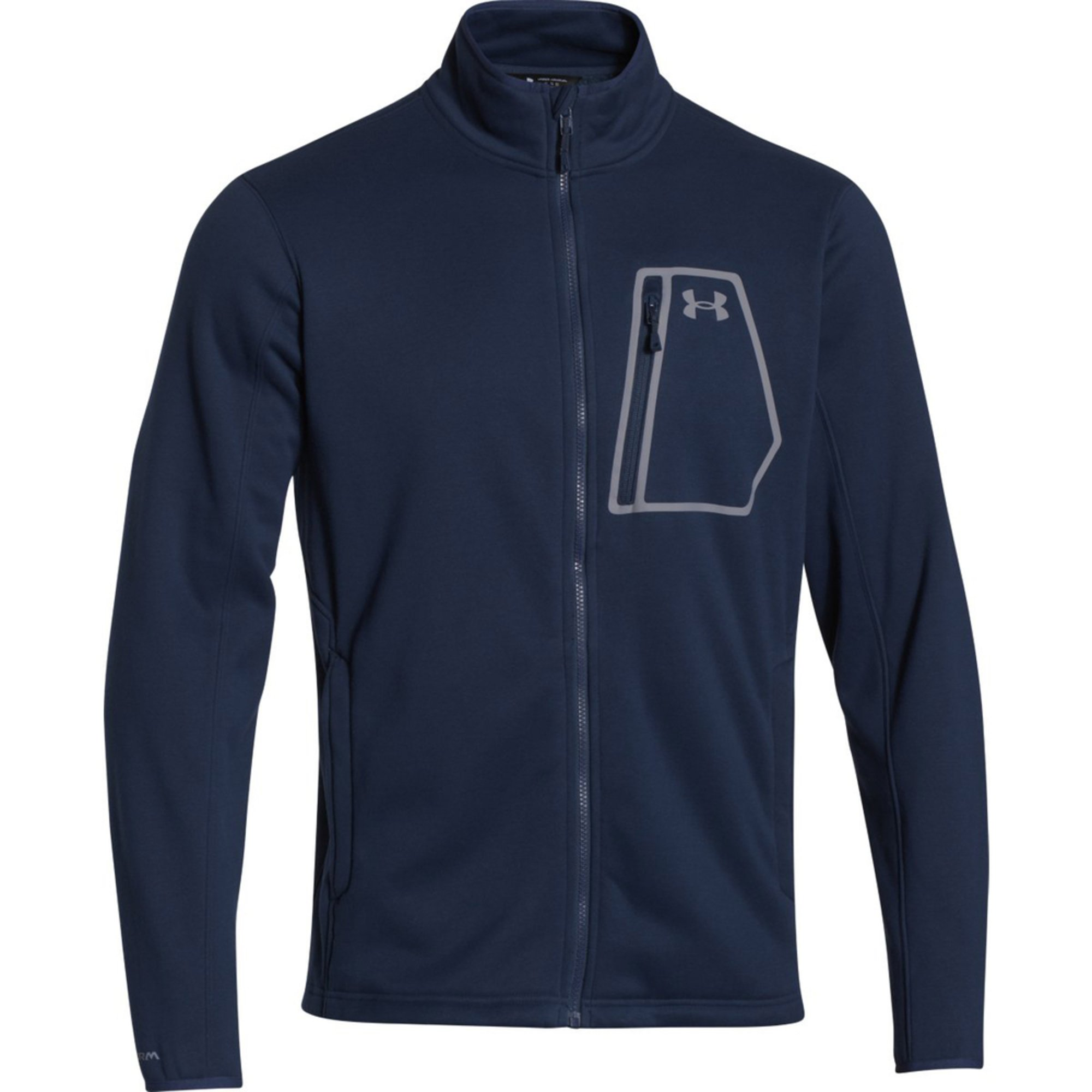 Under armour extreme coldgear jacket men 39 s clothing for Under armour men s shirts clearance