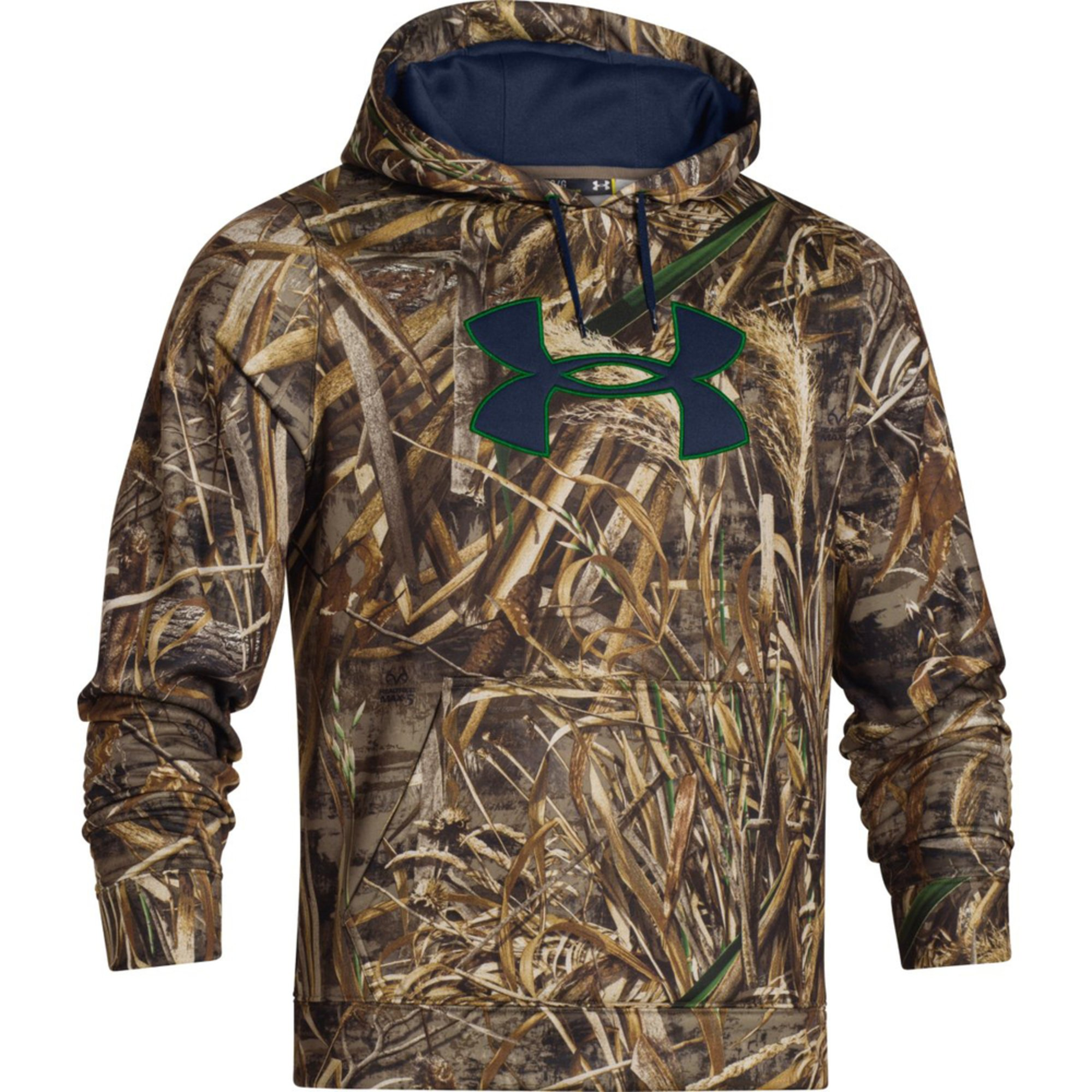 Under armour camo big logo hoody men 39 s clothing men for Under armour men s shirts clearance