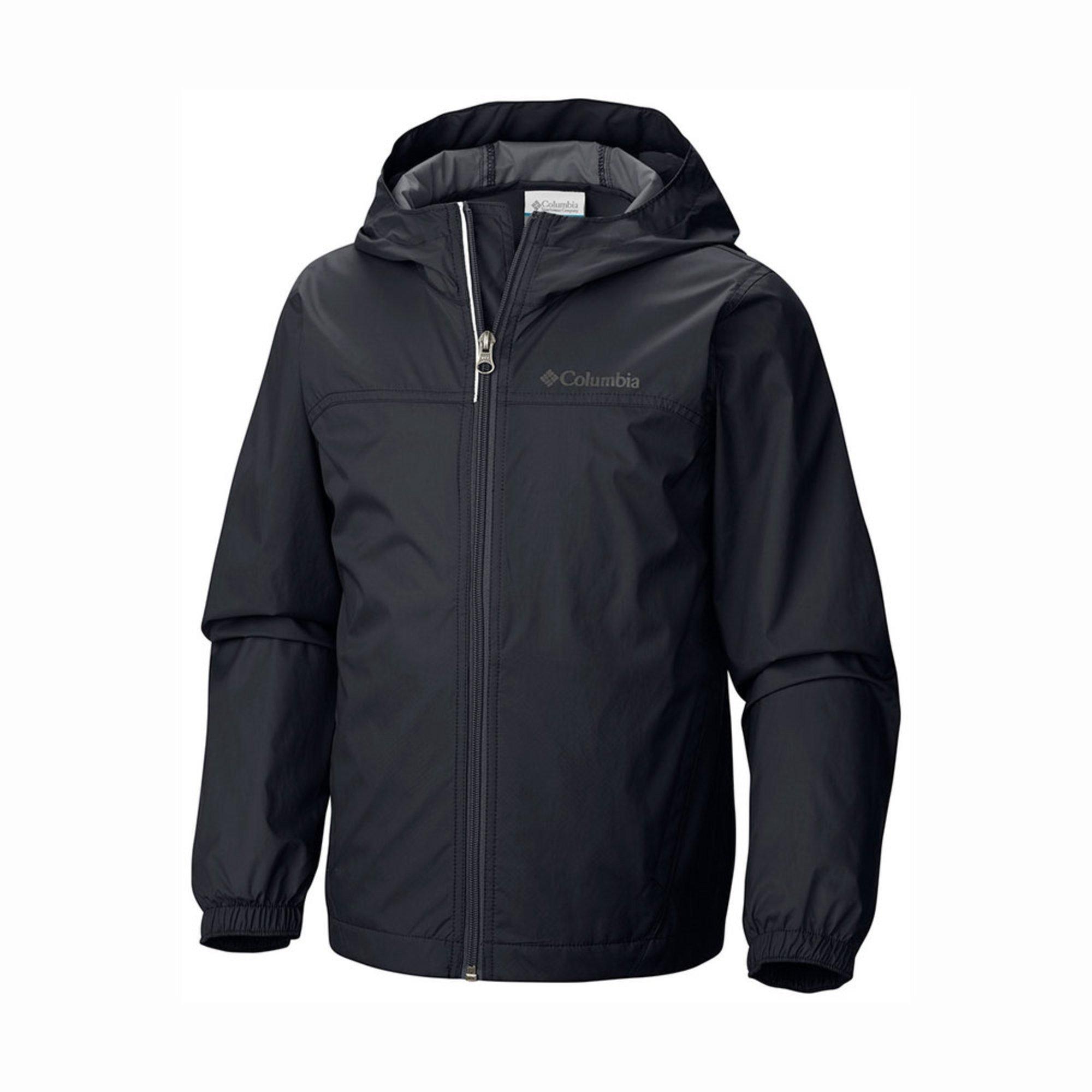 977e9549 Columbia Big Boys' Glennaker Rain Jacket, Black | Big Boys' Coats ...