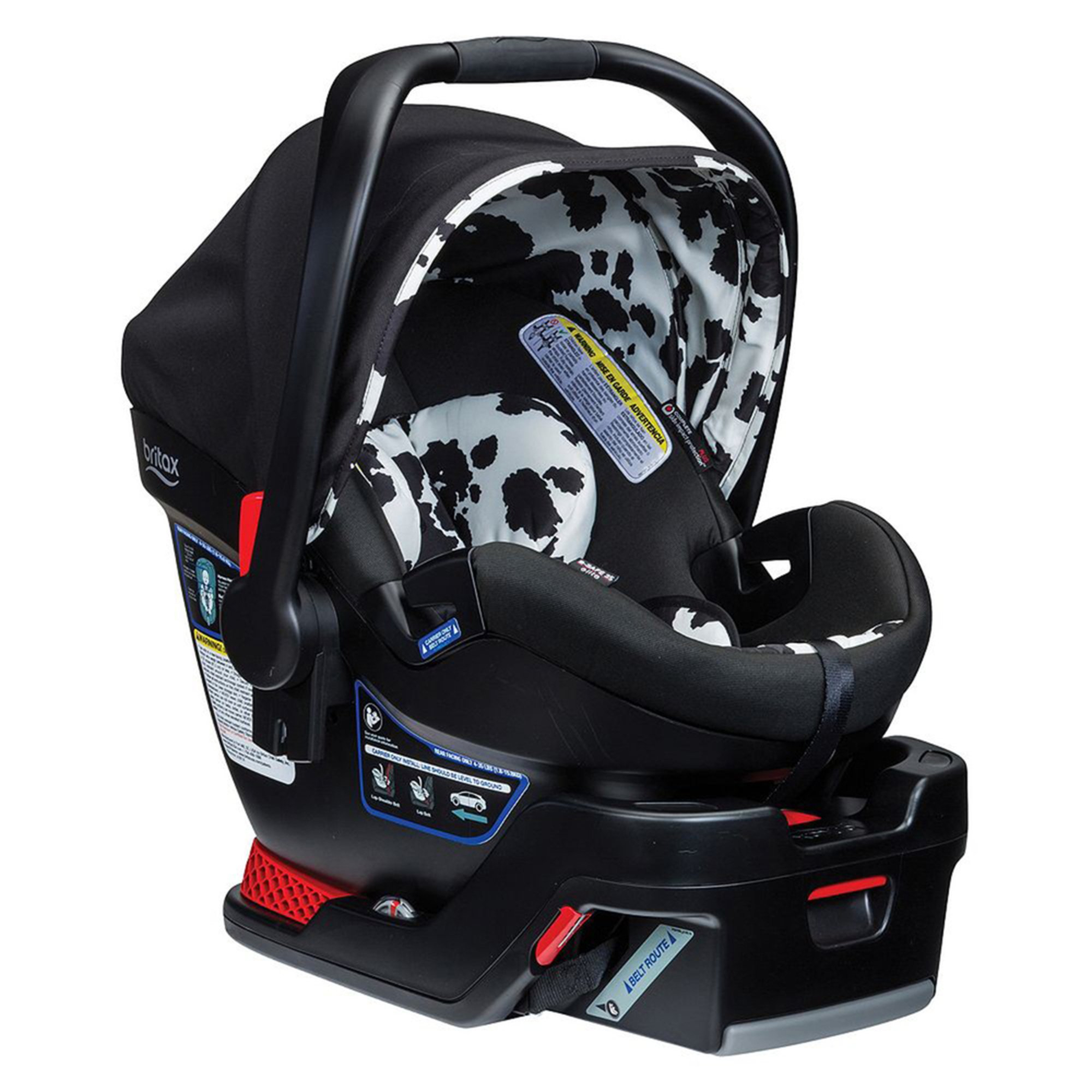 britax b safe 35 elite infant car seat cowmooflage infant car seats kids shop your navy. Black Bedroom Furniture Sets. Home Design Ideas