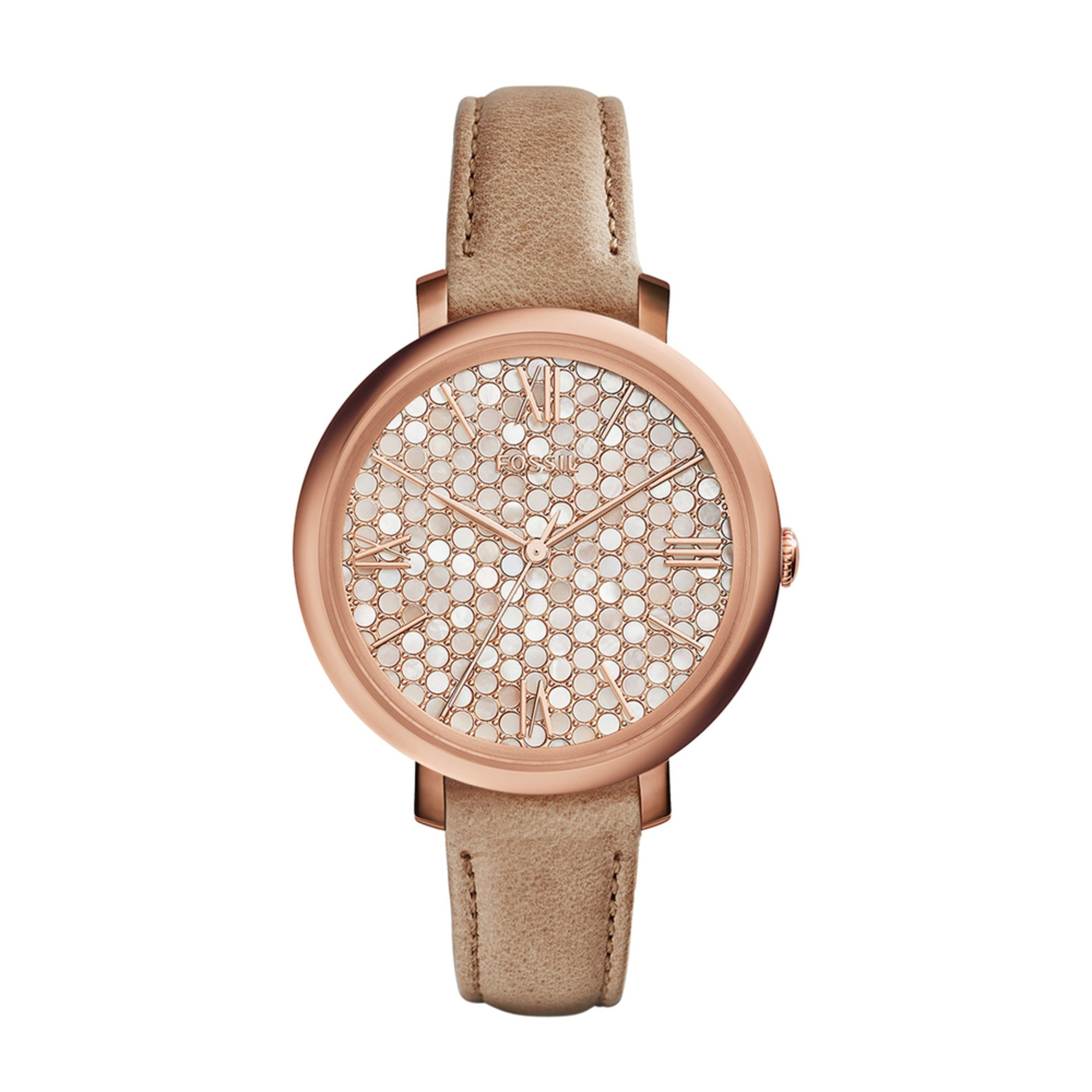 fossil s jacqueline leather 36mm