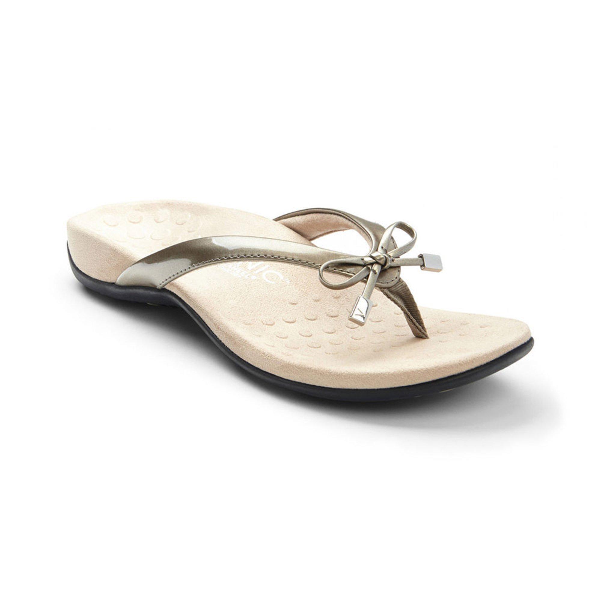 ec266078dd08 Vionic. Vionic Bella II Women s Thong Sandal Pewter