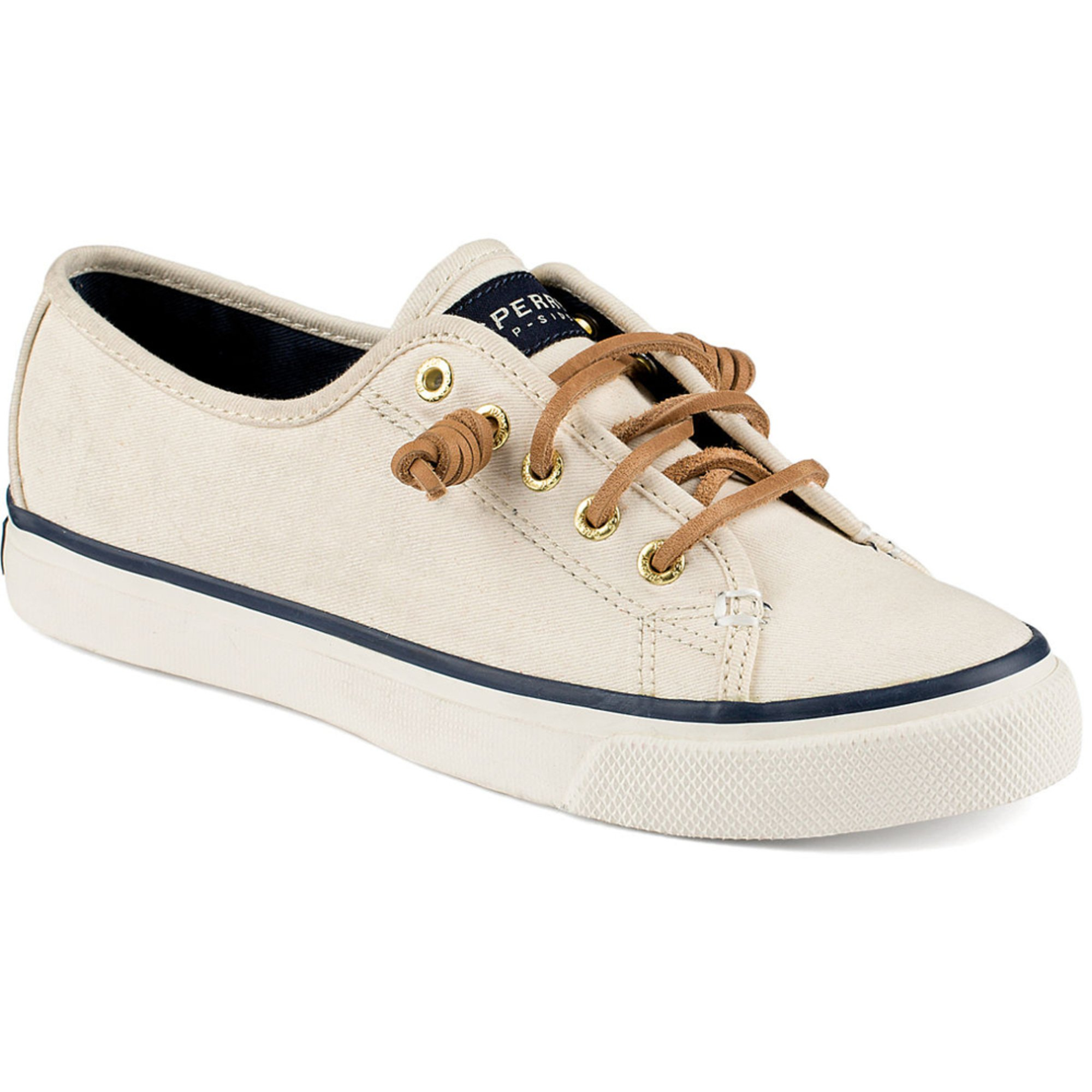Sperry Top-Sider. Sperry Top-Sider Seacoast Canvas Women's Sneaker Ivory