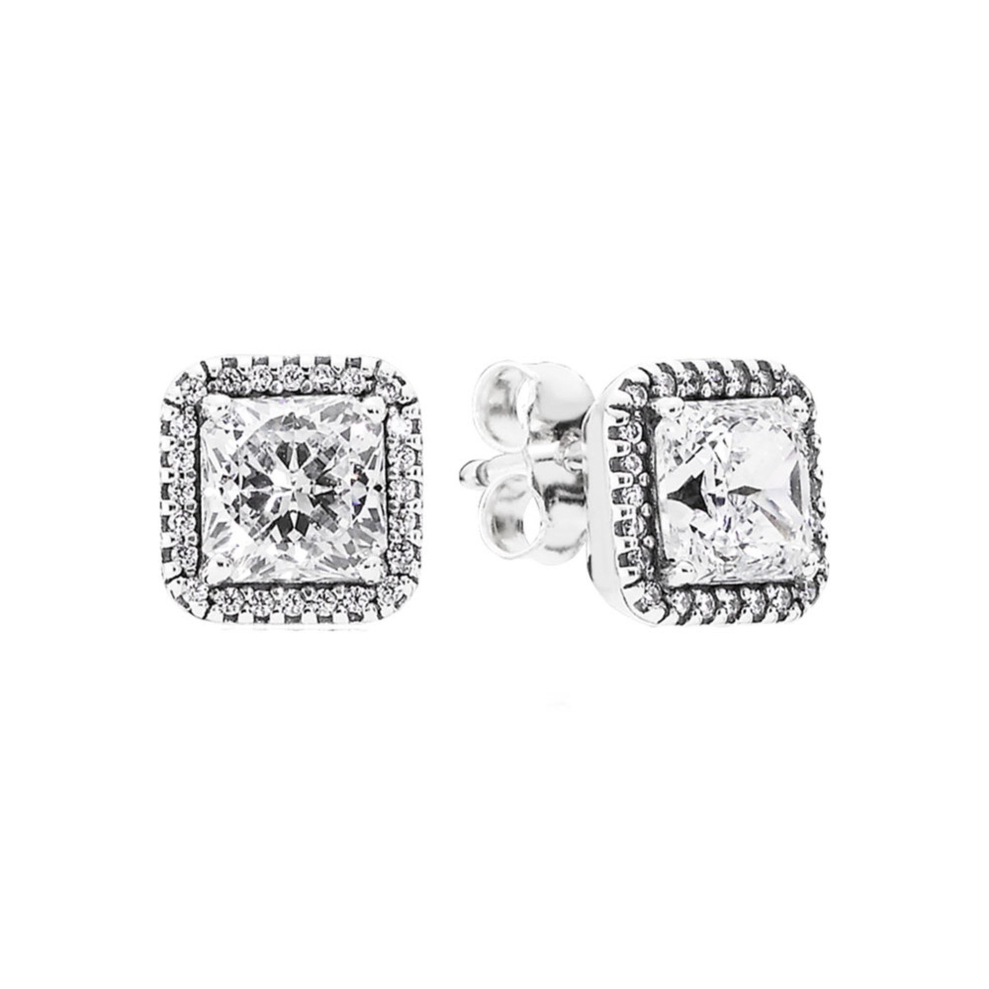 e23a81a9a Pandora Timeless Elegance Stud Earrings, Clear Cz   Fashion Earrings ...