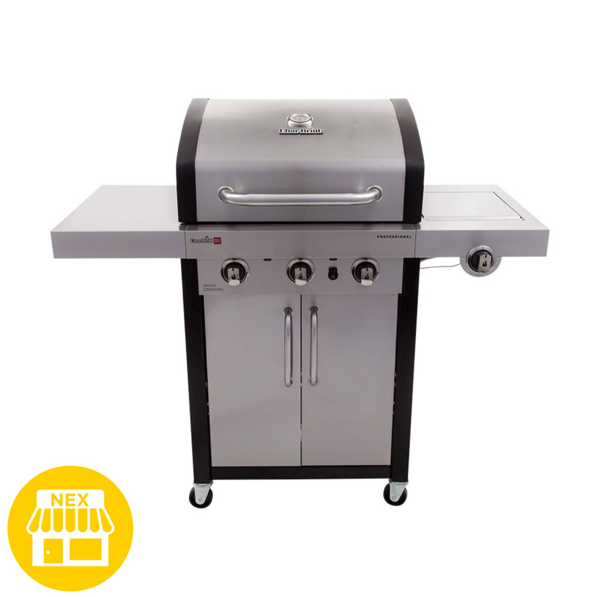 Char Broil Professional Series Tru Infrared 3 Burner Cabinet Gas Grill