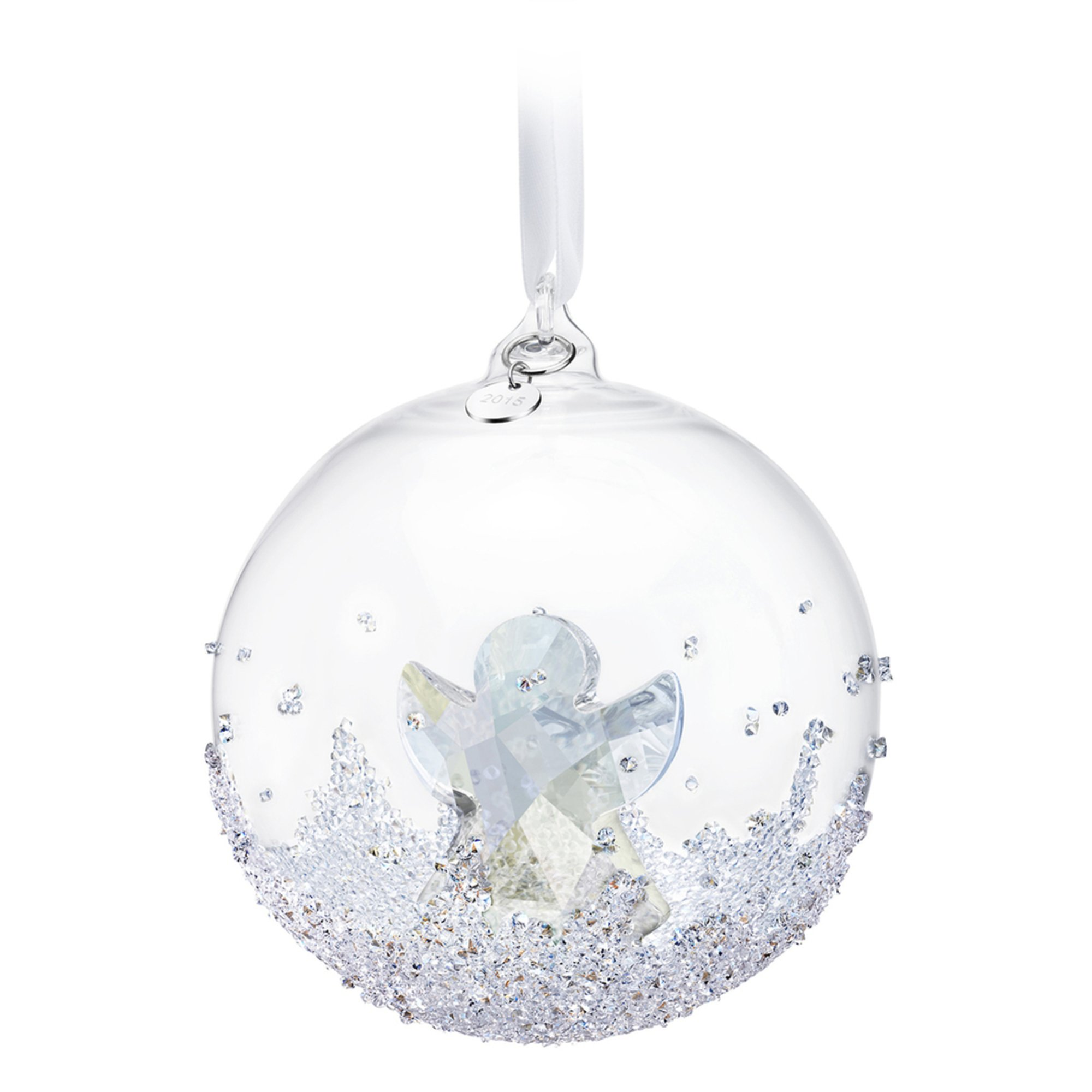 Swarovski christmas ball ornament a e 2015 ornaments for Christmas ornaments clearance
