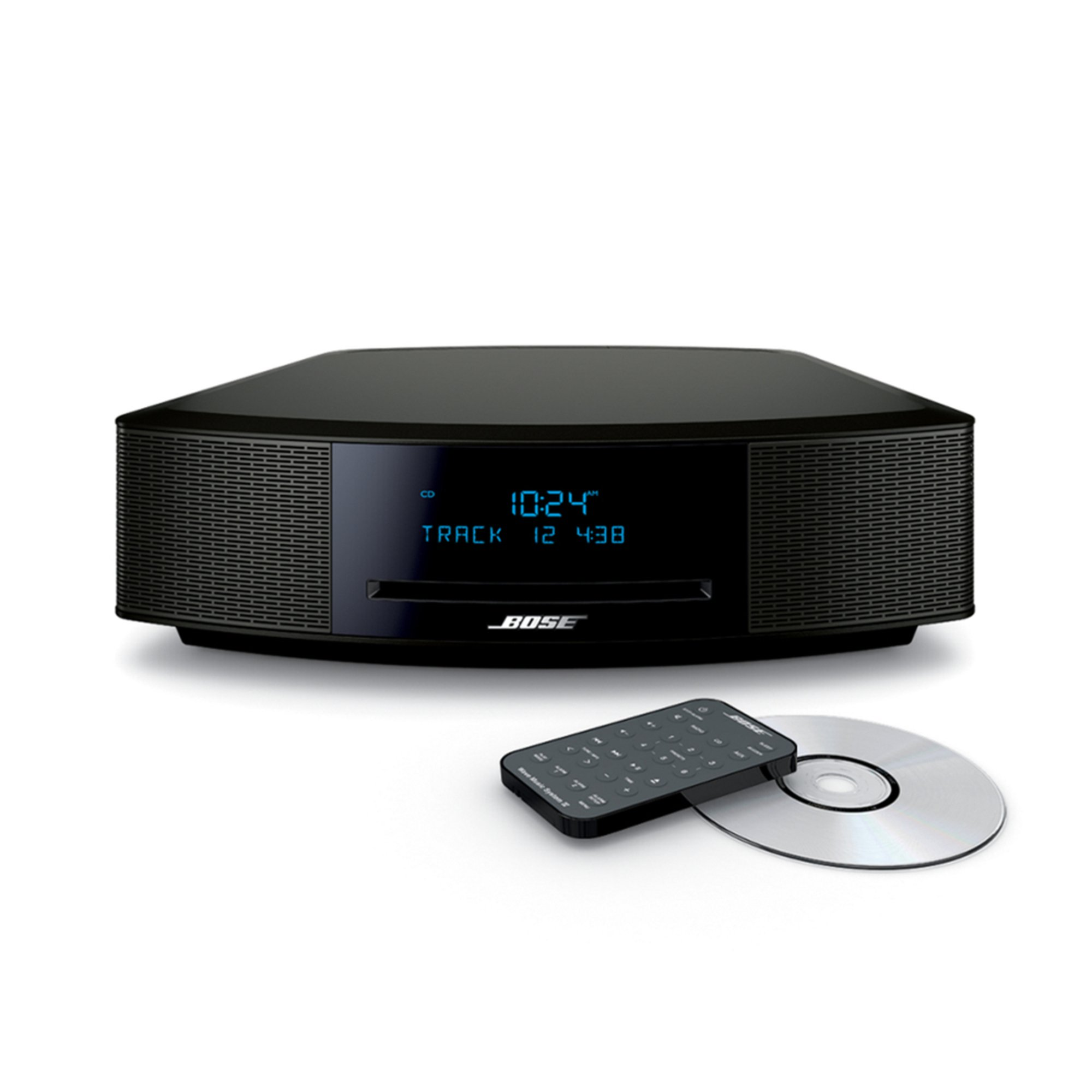 bose wave music system iv black audio electronics. Black Bedroom Furniture Sets. Home Design Ideas