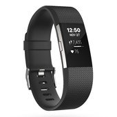 Fitbit Charge 2 Fitness Tracker - Black/Silver - Small