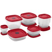 Rubbermaid Easy Find Lids 24-Piece Food Storage Set