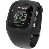 Polar A300 Fitness Watch with Heart Rate Monitor - Black