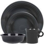 Fiesta 4-Piece Dinnerware Set, Slate