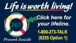 Lifeline 1-800-273-TALK (8225 Option 1)